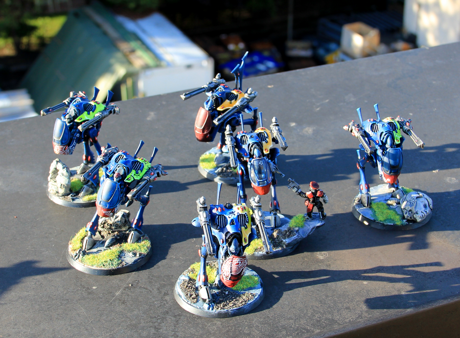 Eldar, Freehands, War Walker, Warhammer 40,000