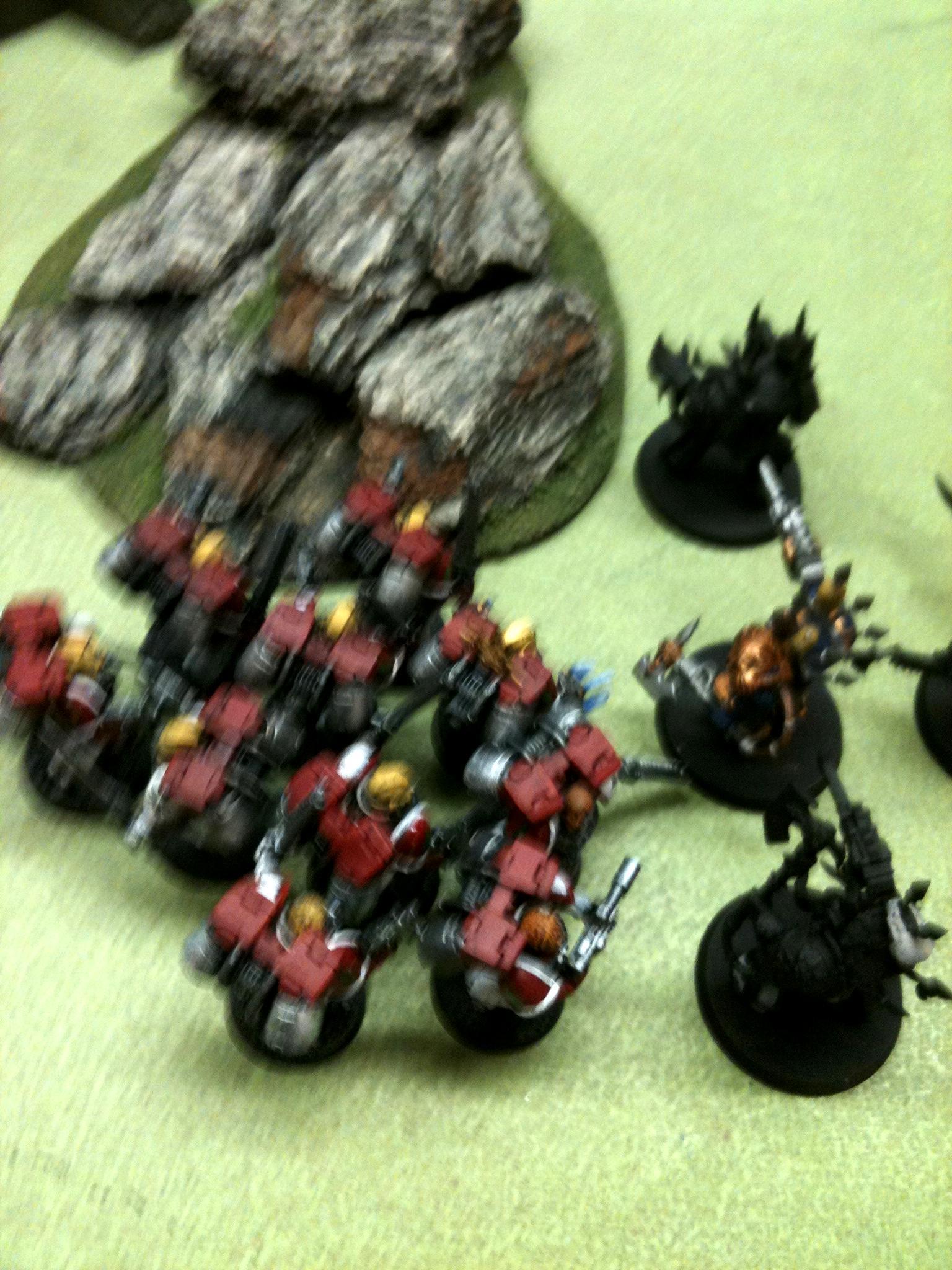 Blurred Photo, Seraphs argent assault squad