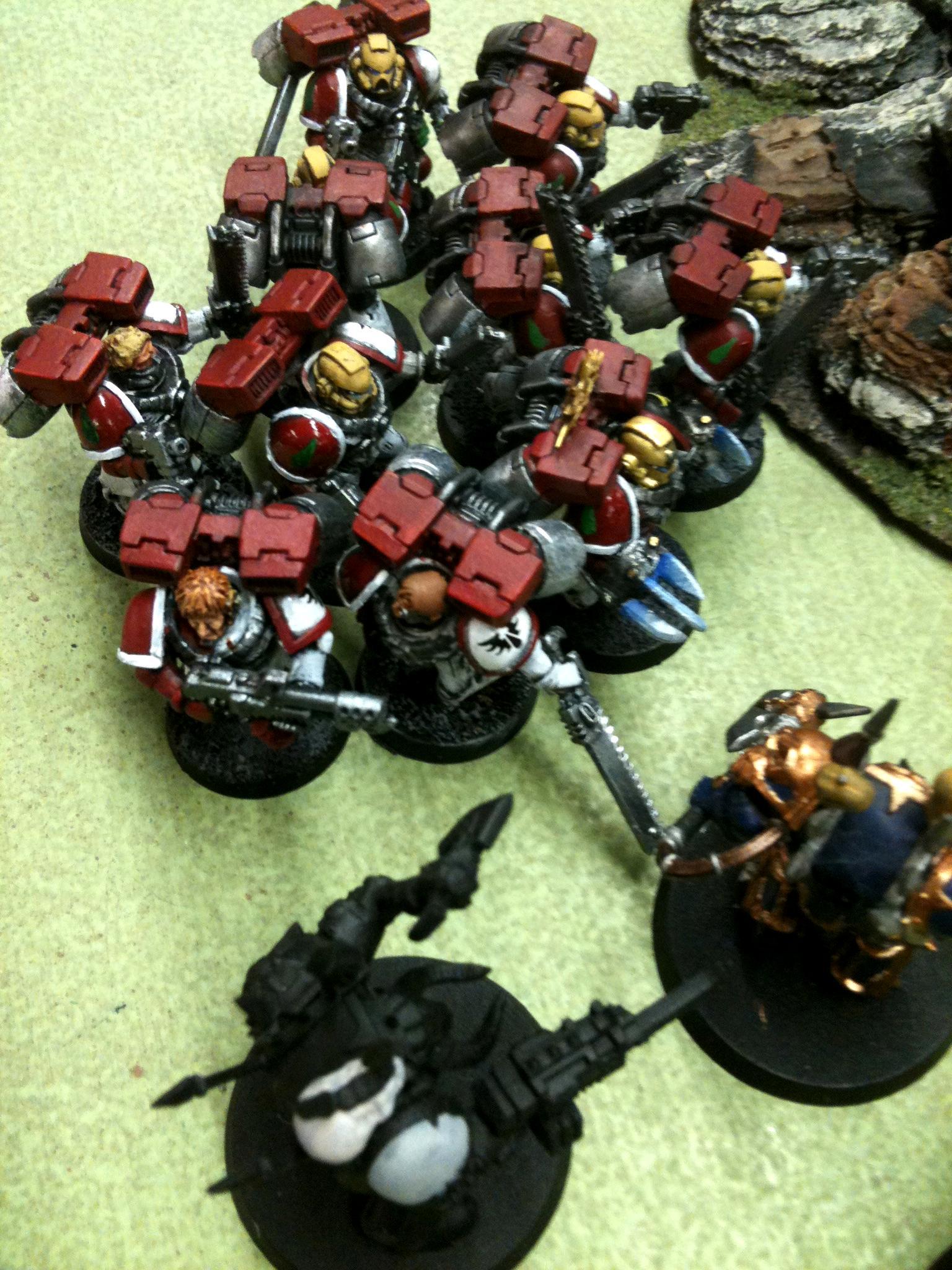 Seraphs Argent assault squad