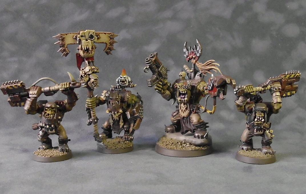 Assault On Black Reach, Nob, Ork Nobz, Orks