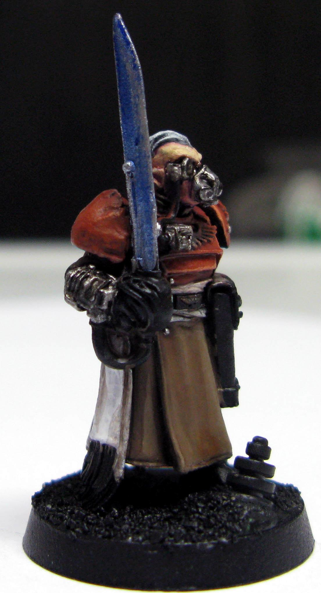 Gas Mask, Imperial Guard, Master Of The Fleet, Regimental Advisors, Work In Progress