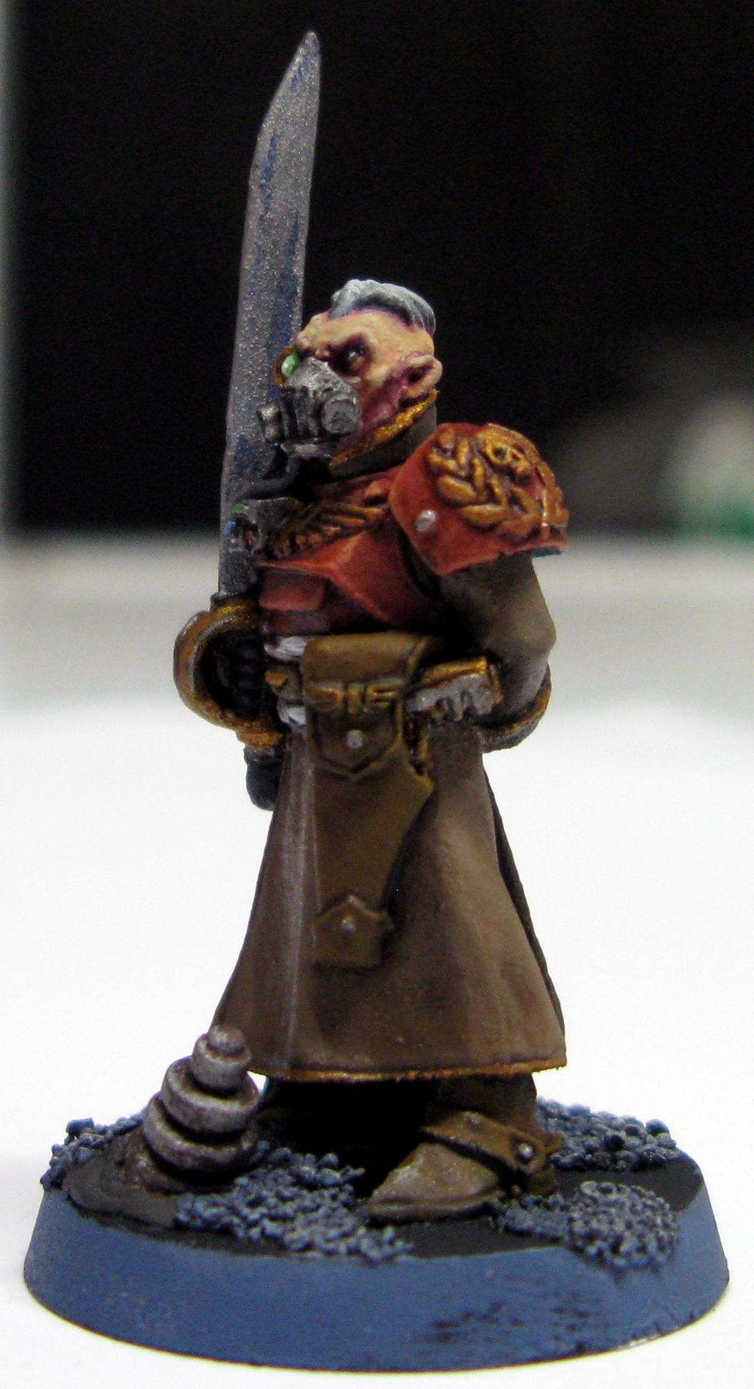 Gas Mask, Imperial Guard, Master Of The Fleet, Regimental Advisors