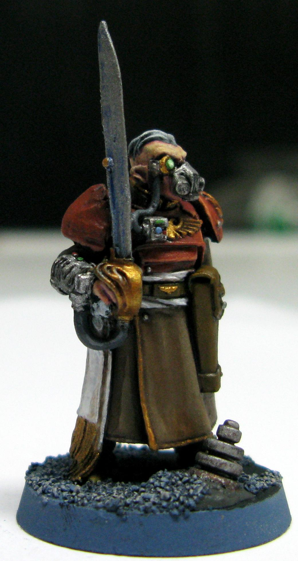 Gas Mask, Imperial Guard, Master Of The Fleet, Regimental Advisors