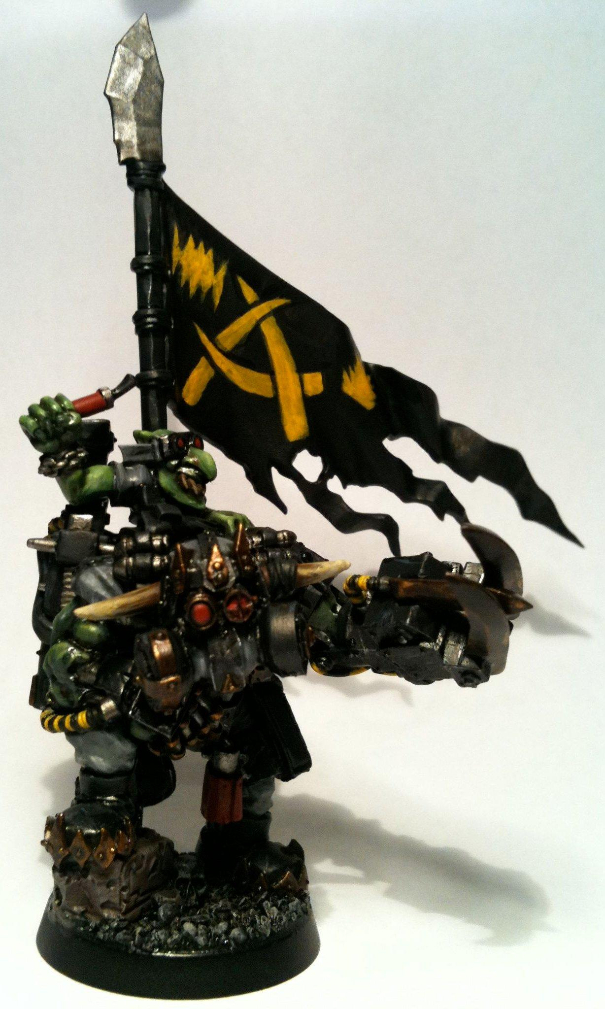 Arakasi, Boss Pole, Nob, Power Klaw, Waaagh Dakka