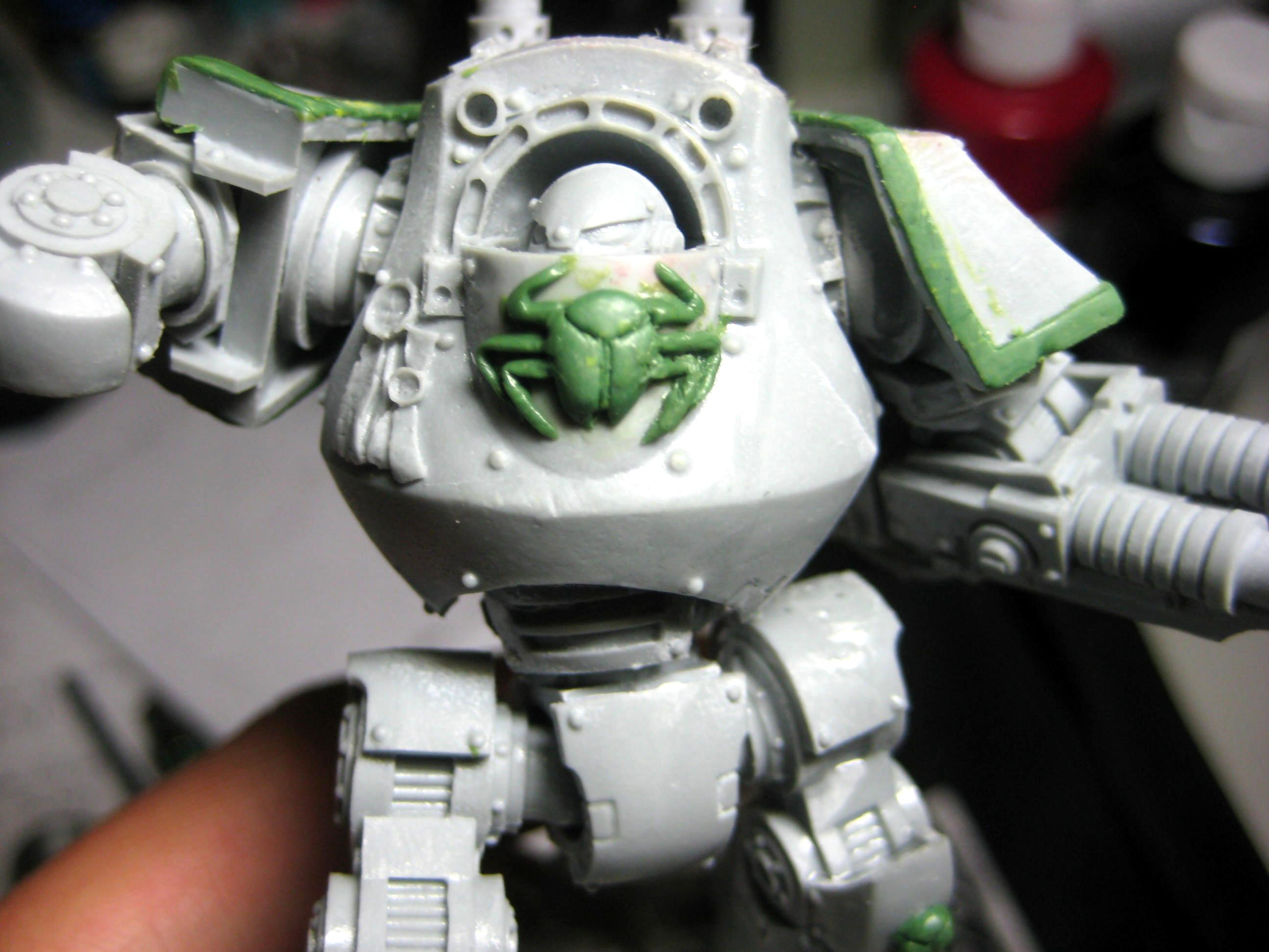 Contemptor, Conversion, Dreadnought, Forge World, Greenstuff, Pre Heresy, Thousand Sons, Warhammer 40,000, Work In Progress