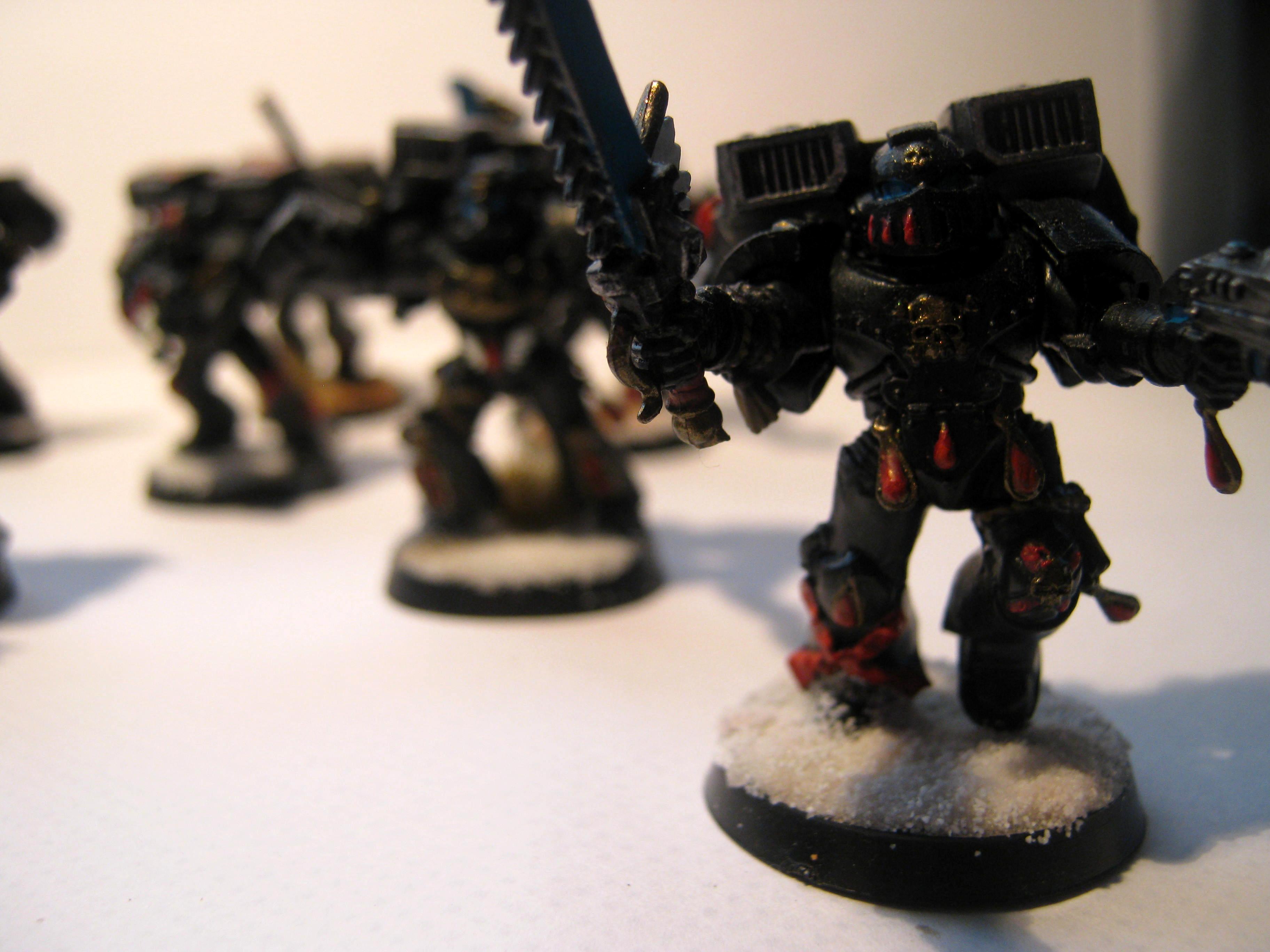 Blood Angels, Death Company, Snow, Warhammer 40,000