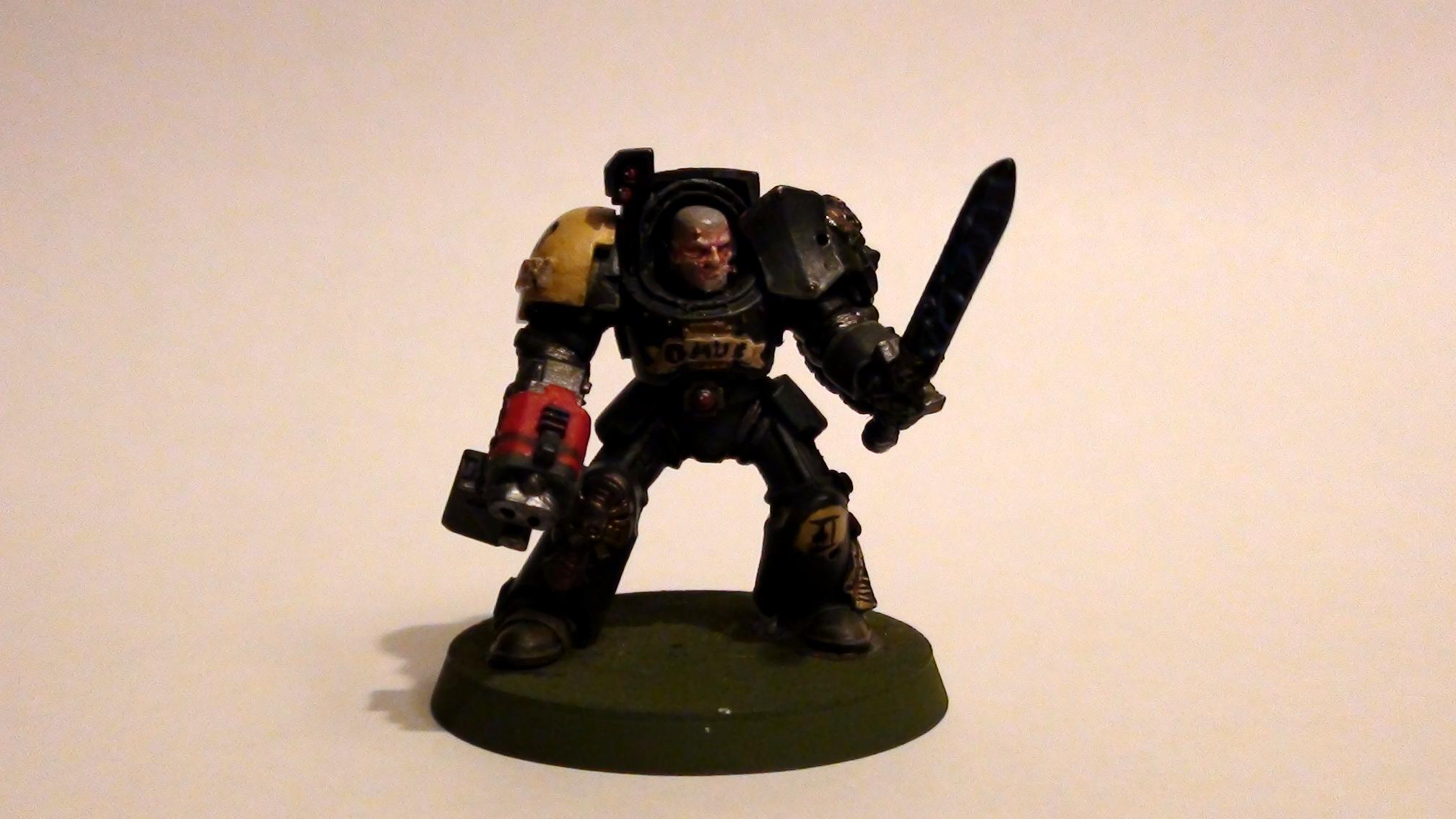 Red Scorpions, Space Marines, Terminator Sergeant