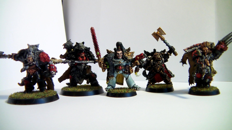 Army, Blackmane, Grimnar, Logan, Lukas, Njal, Ragnar, Space, Stormcaller, The Slayer, The Trickster, Ulrik, Wolf, Wolves