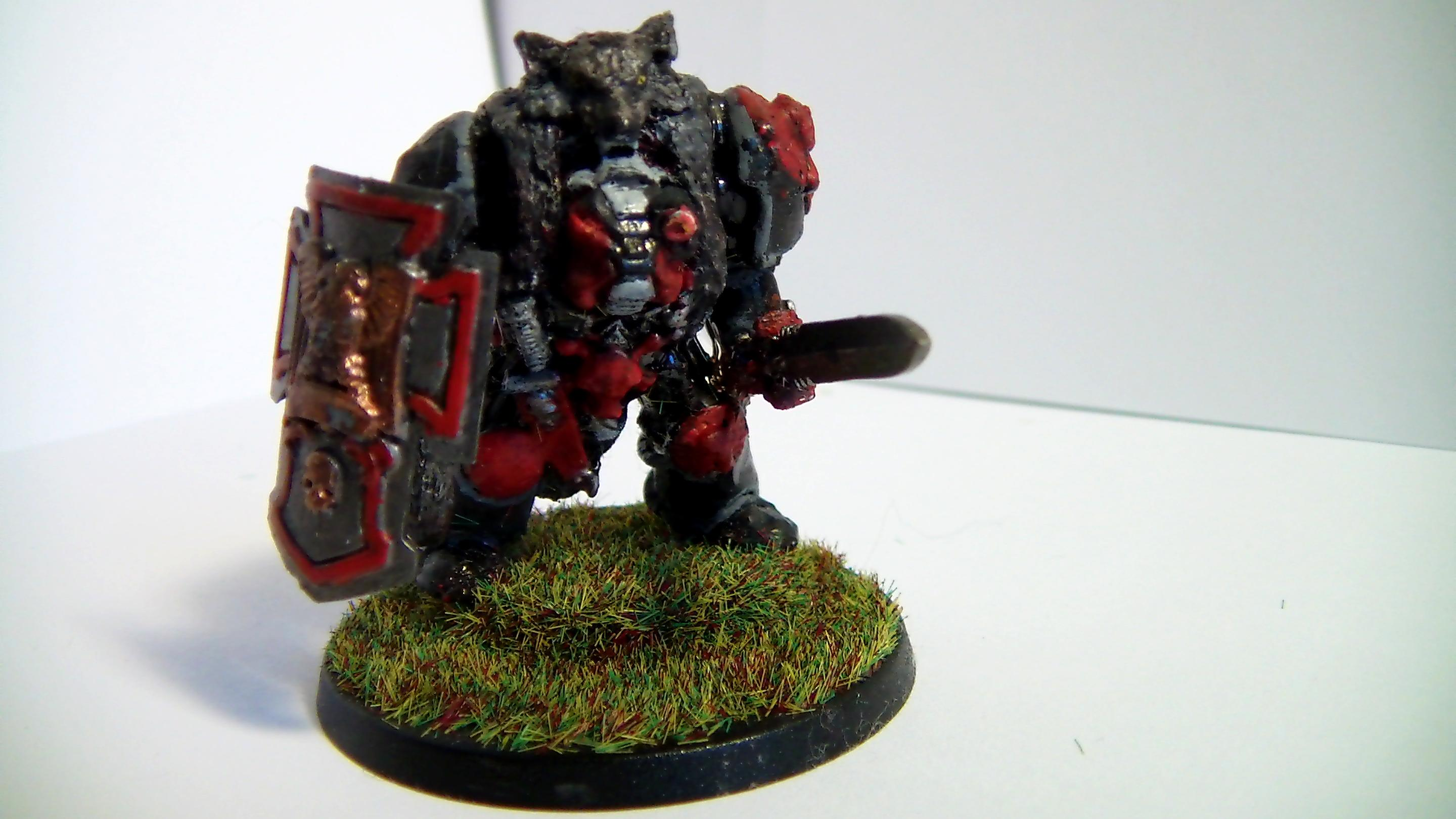 Andilus, Army, Greatsword, Space, Storm Shield, Terminator Armor, Wolf, Wolf Lord, Wolves