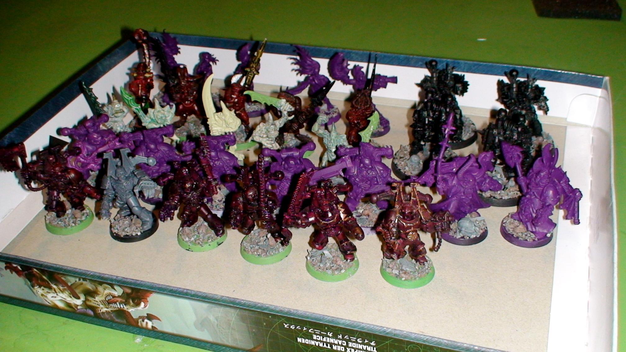 Black Legion, Chaos, Daeomons, Khorne, Nurgle, Slaanesh, Warhammer 40,000