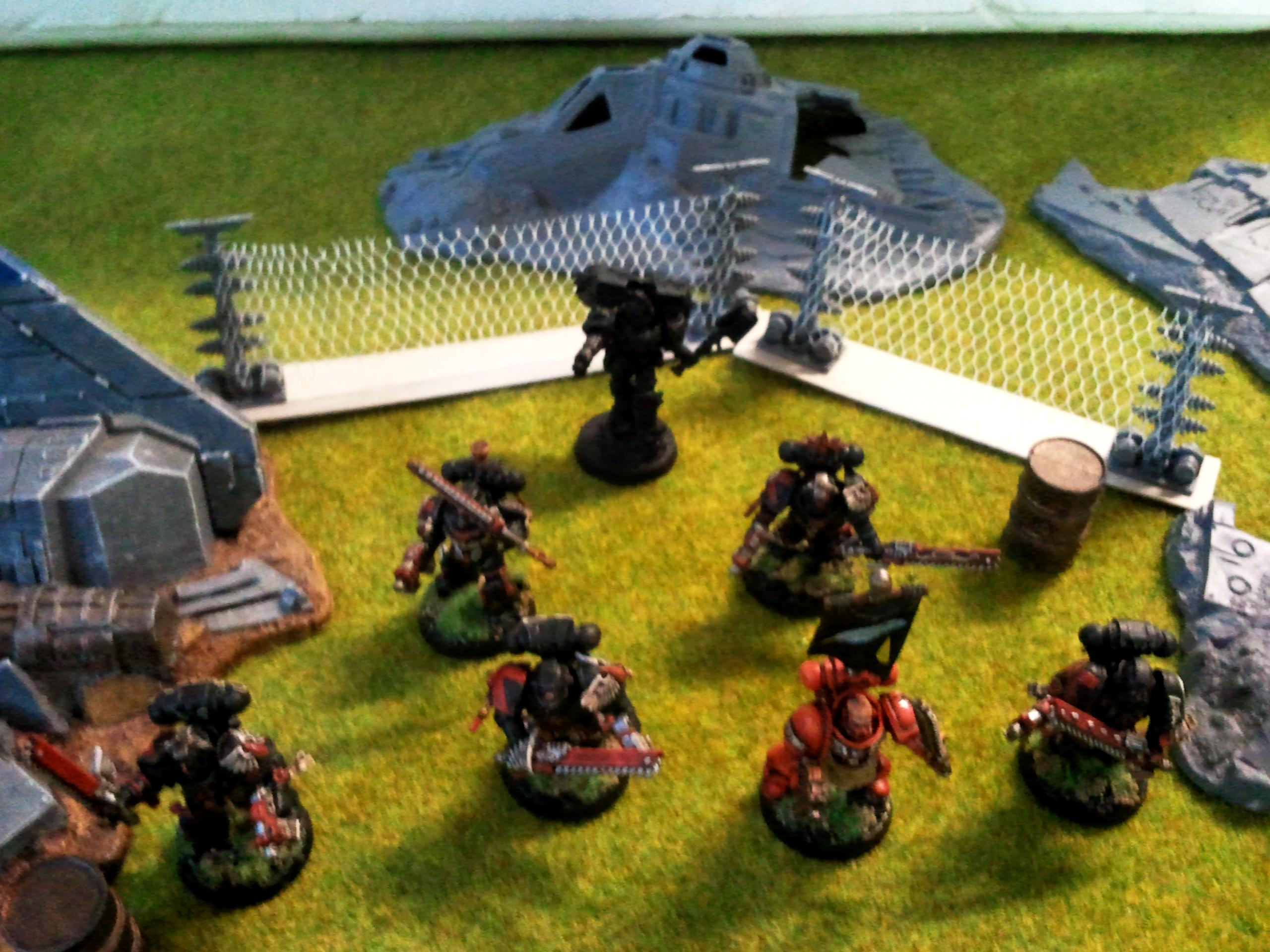 Death Company with sergeant