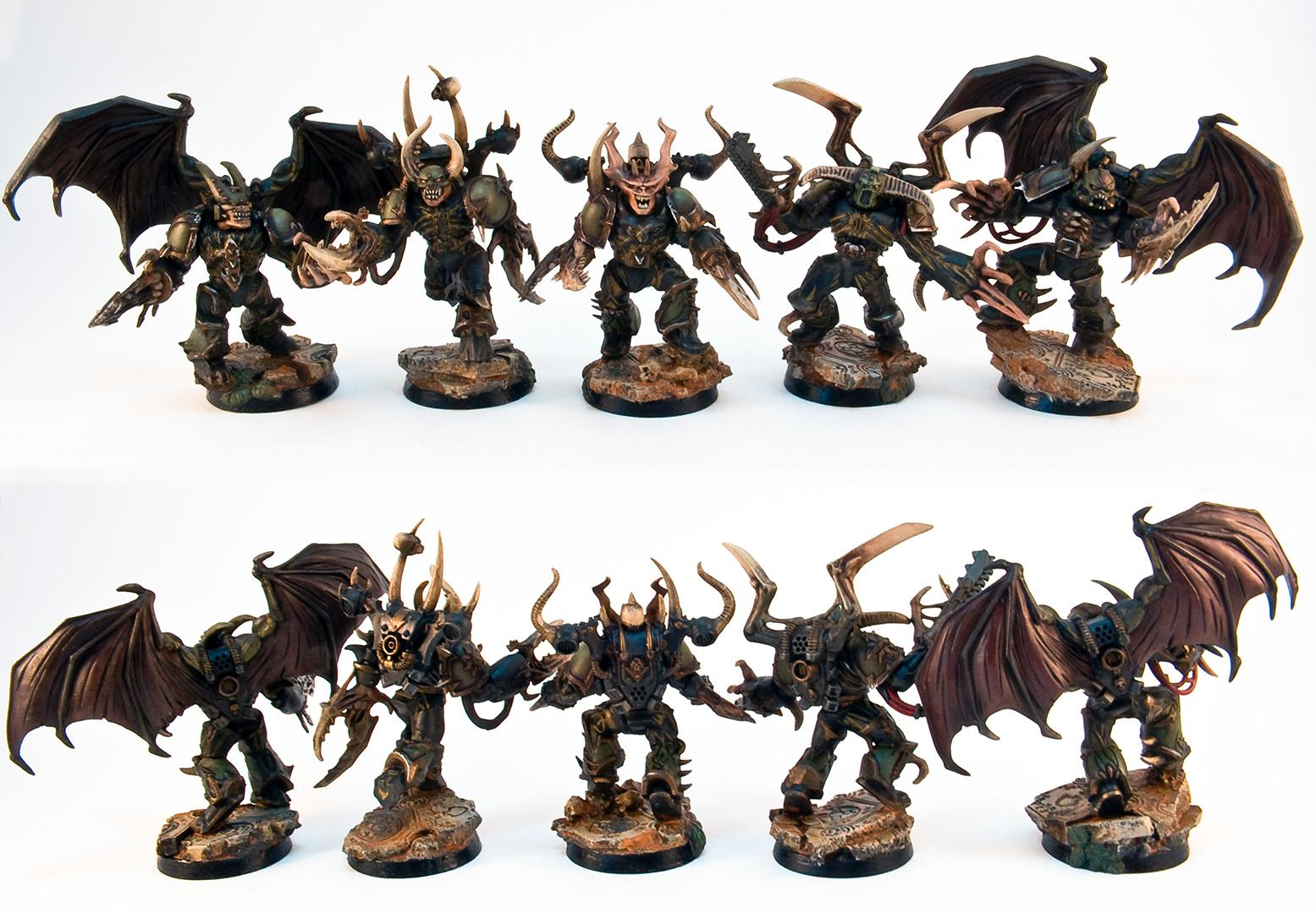 Chaos Space Marines, Possessed Chaos Space Marines, Warhammer 40,000