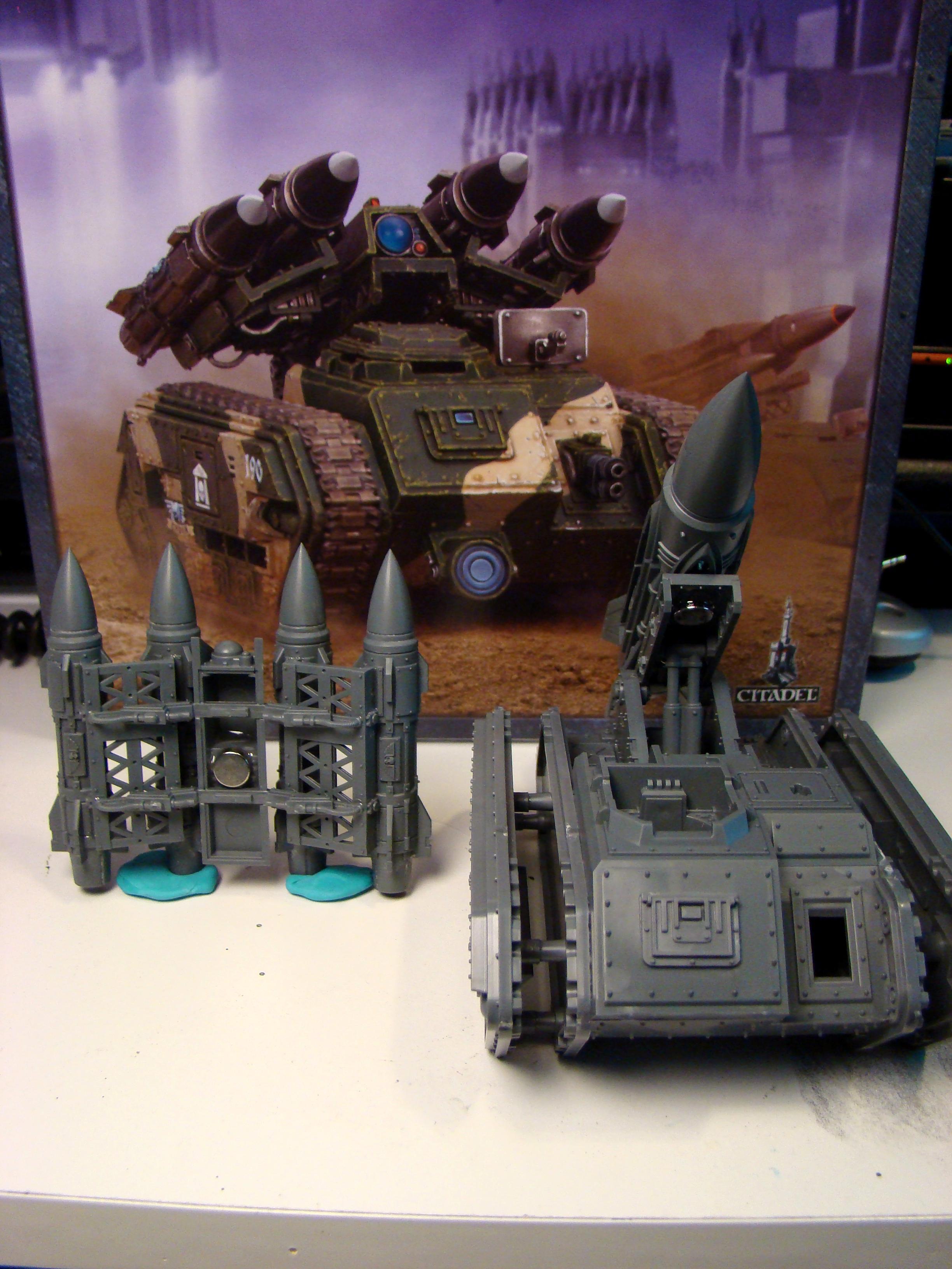 Deathstrike, Imperial Guard, Magnet, Magnetize, Mangets, Manticore, Missile Launcher, Tank, Warhammer 40,000, Warhammer Fantasy