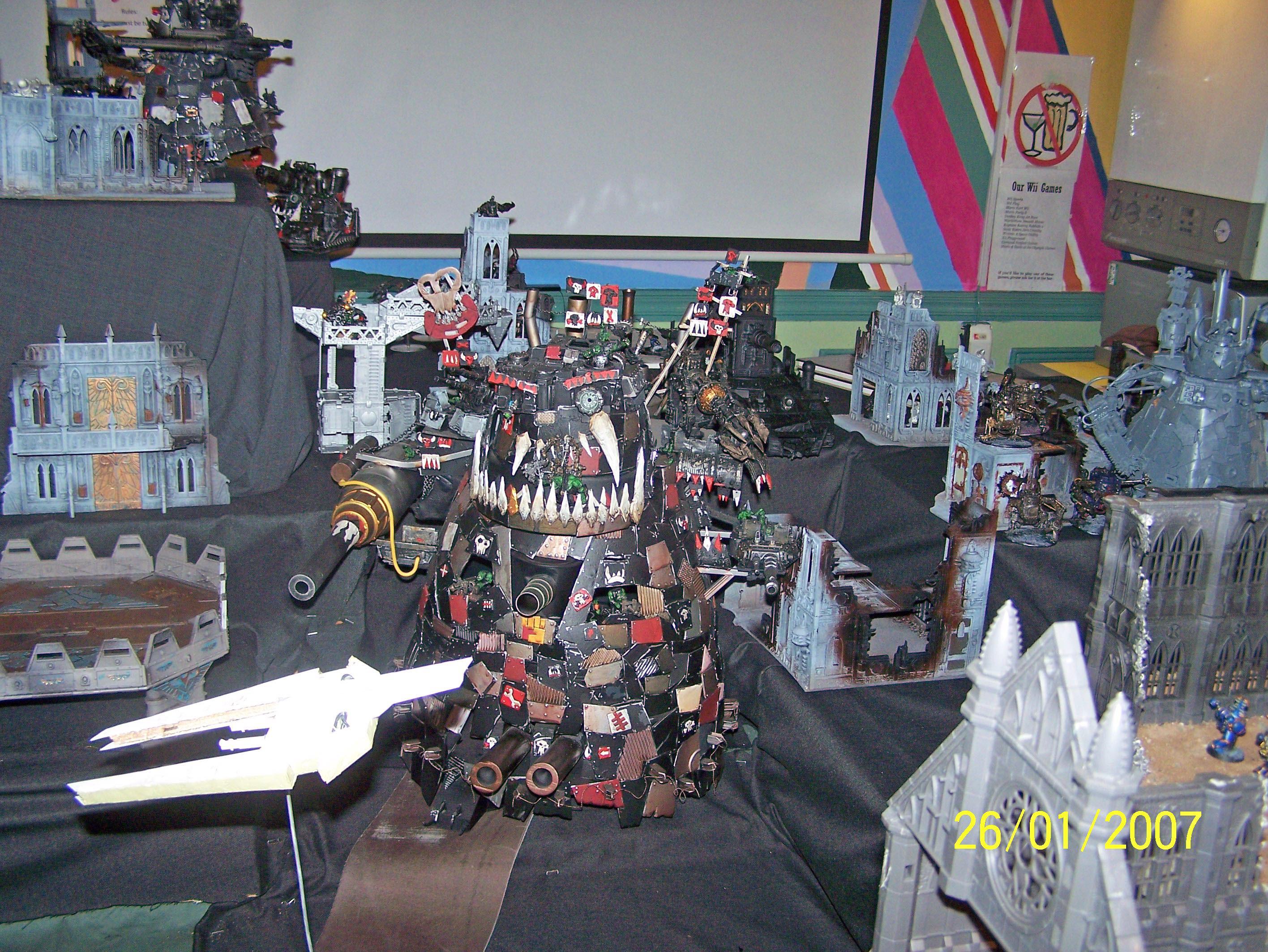 000 Ork, Apocalypse, Conversion, Gargant, Warhammer 40,000