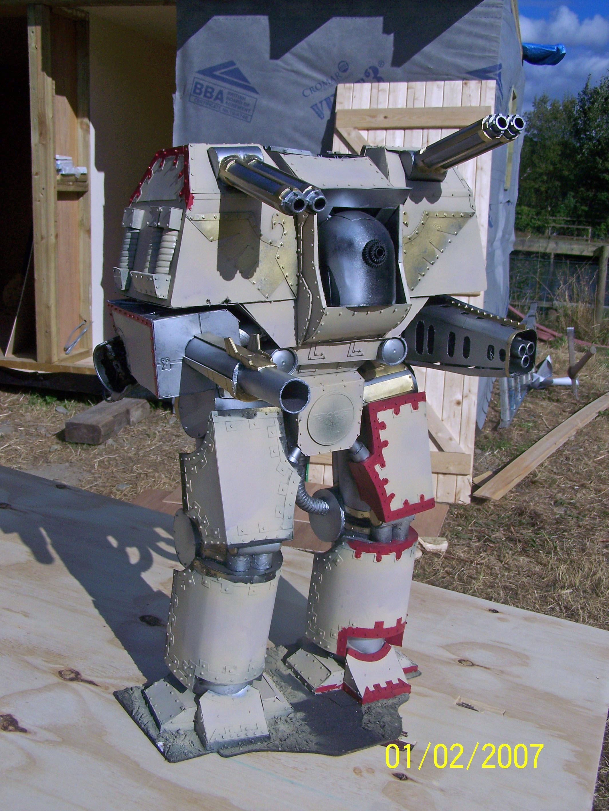 Adeptus Mechanicus, Scratch Build, Titan, Warlord