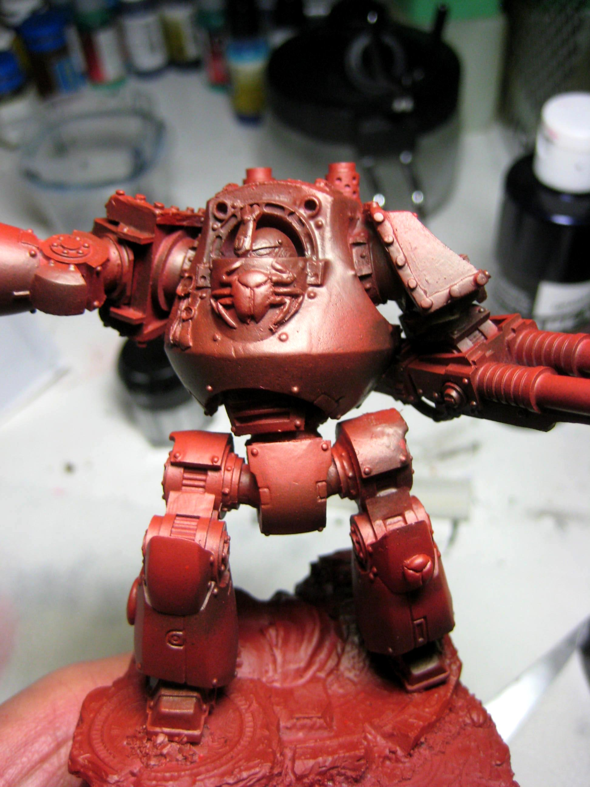 Contemptor, Conversion, Dreadnought, Forge World, Greenstuff, Pre Heresy, Thousand Sons, Warhammer 40,000