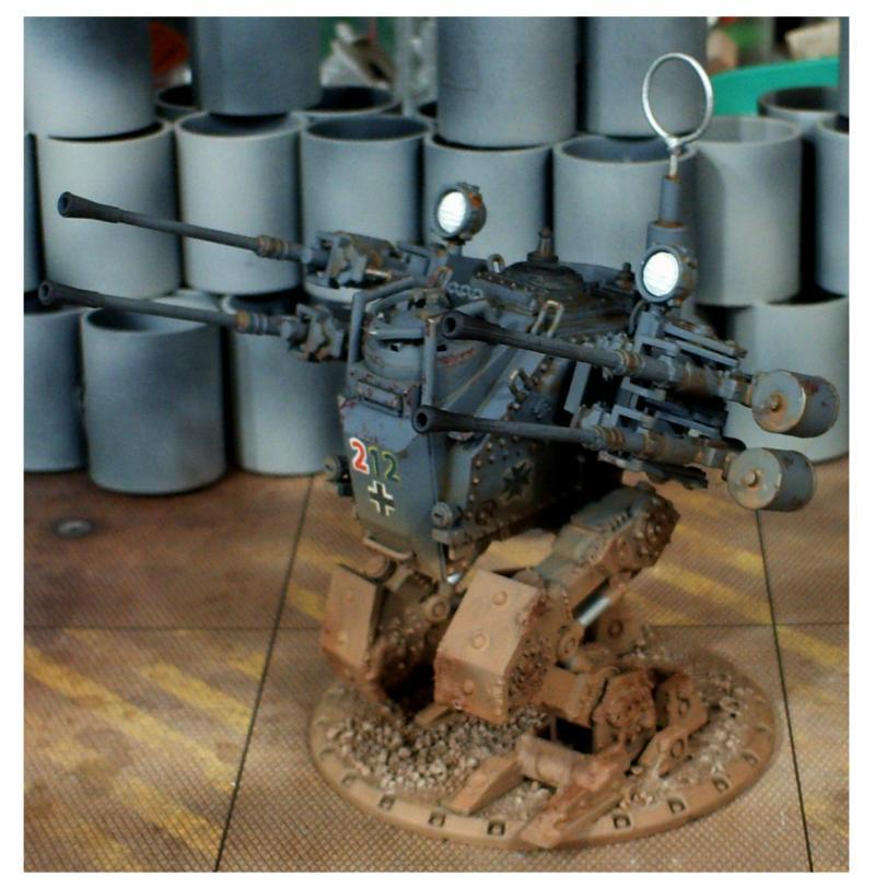 Anti Aircraft, Dust, Walker