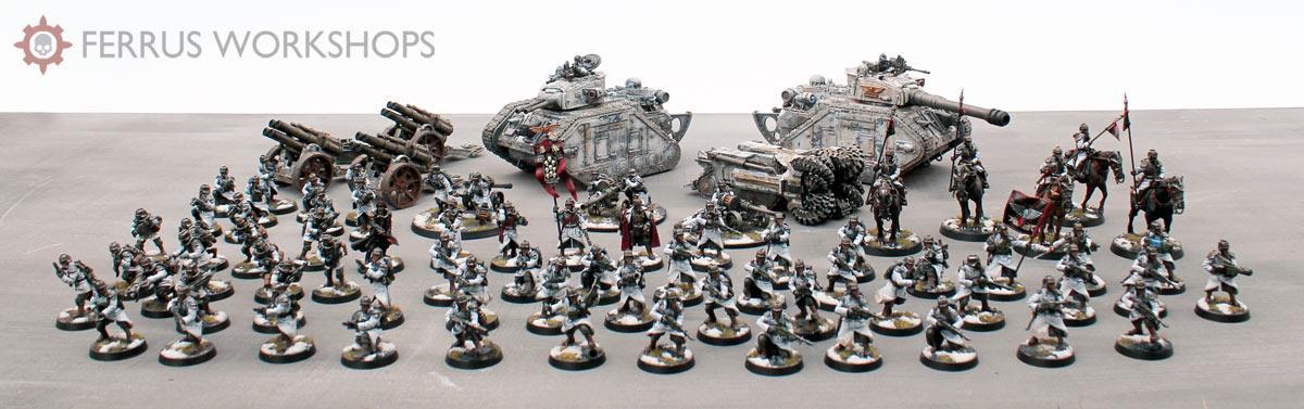 Death Korps of Krieg, Guard, Leman Russ, Winter