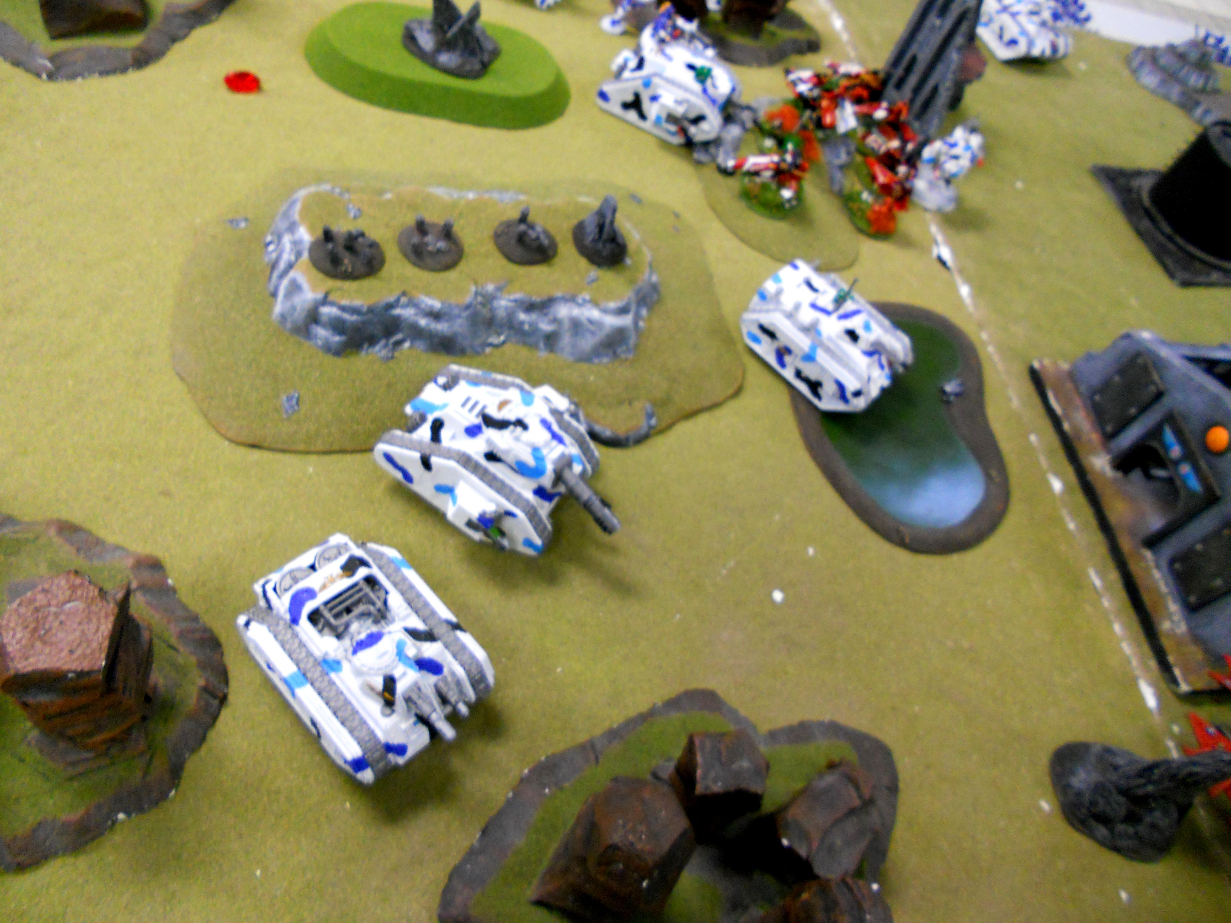 Turn 1 Eldar Bikes post consolidation