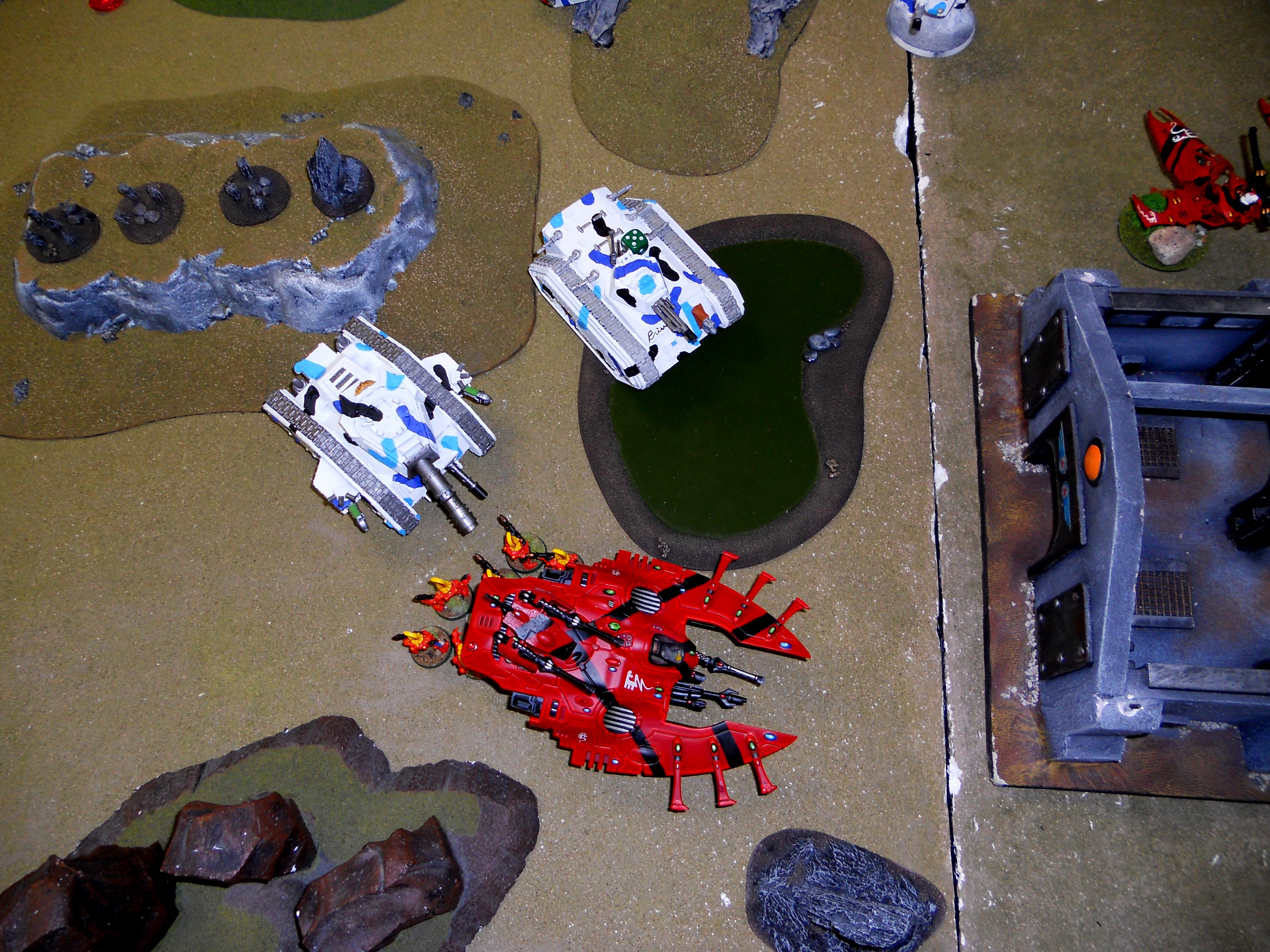 Turn 2 Eldar dragons