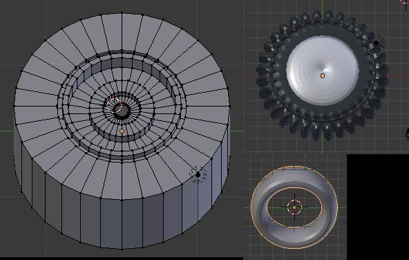 3d Modelling, Wheel, Wheels - first attempt