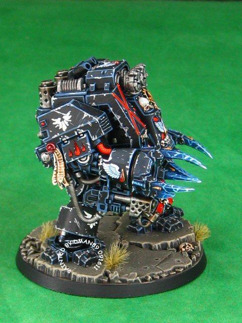 Blood Angel Death Company Dreadnought, Blood Angels, Blood Angels Dreadnought, Dreadnought, Warhammer 40,000