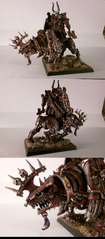 Battle, Champion, Chaos, Citadel, Cytadel, God, Khorne, Lord, Miniature, Painting, Warhammer Fantasy, Warlord