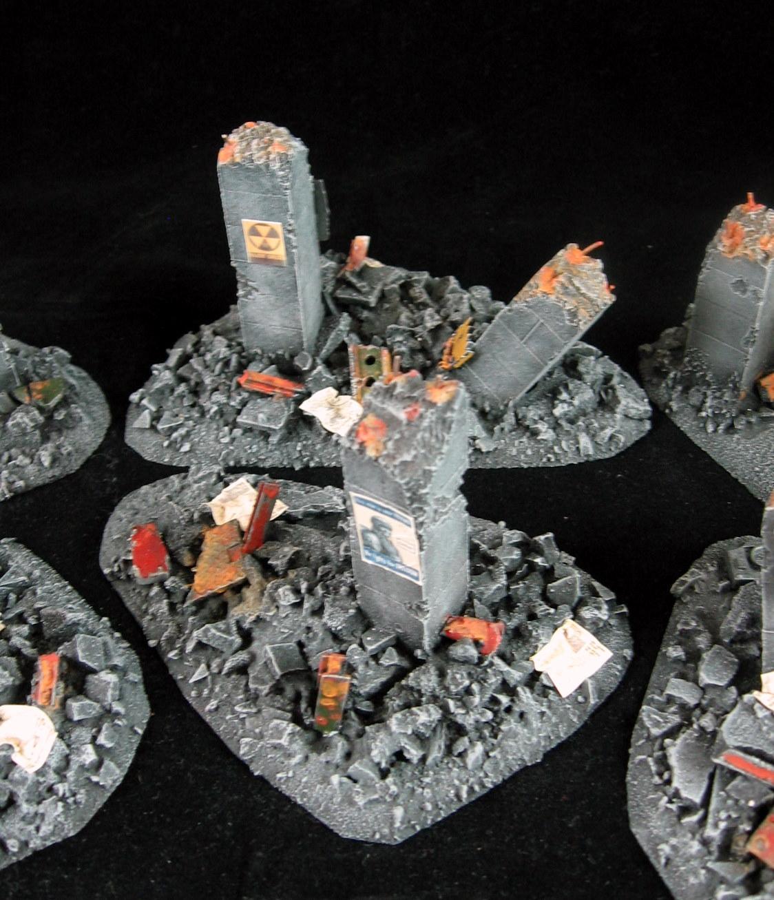 Rubble, Ruins, Terrain