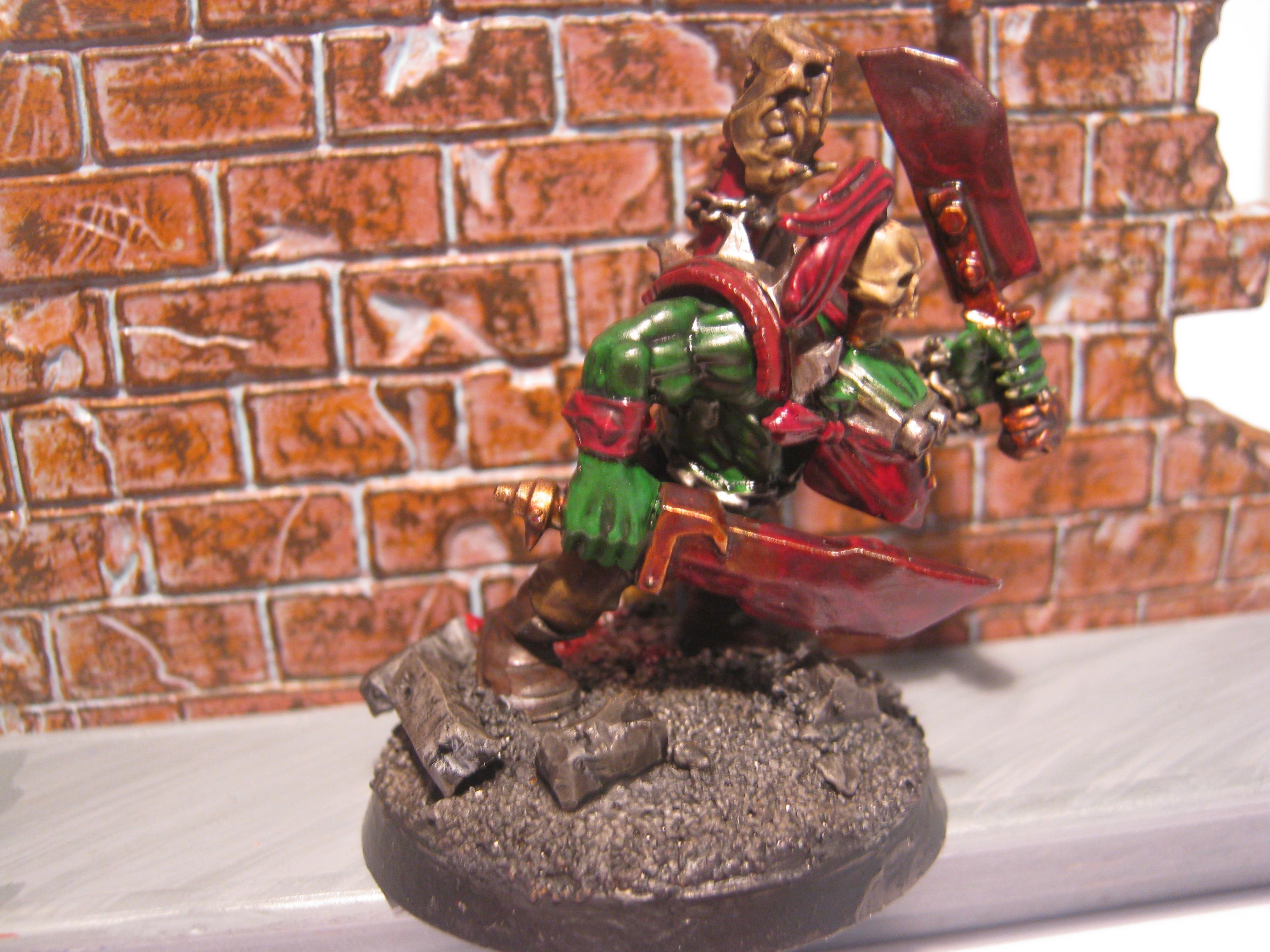 Boss Snikrot, Conversion, Kommando, Orks, Warhammer 40,000