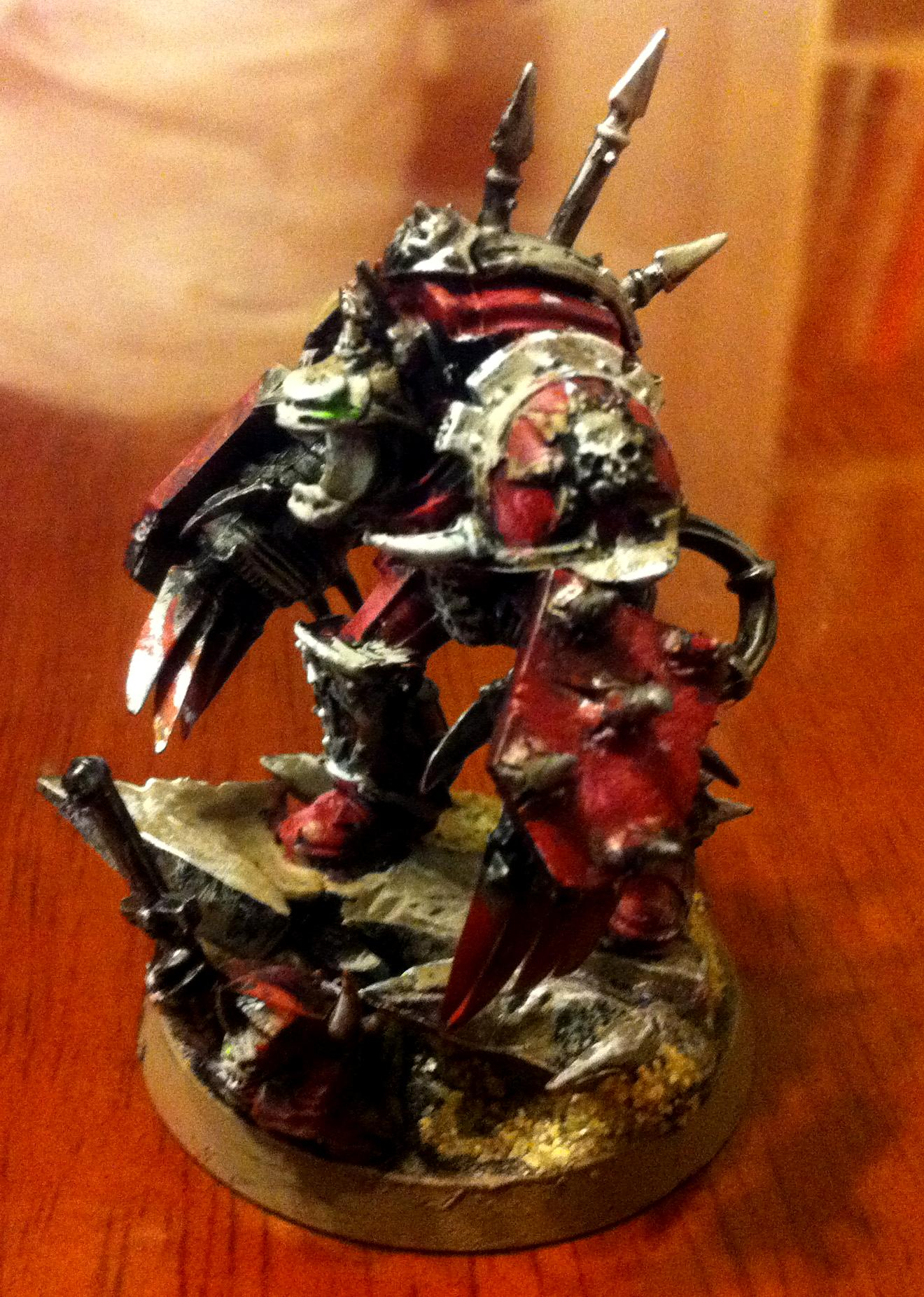 Awesome, Blood, Chaos, Khorne, Lord, Terminator Armor