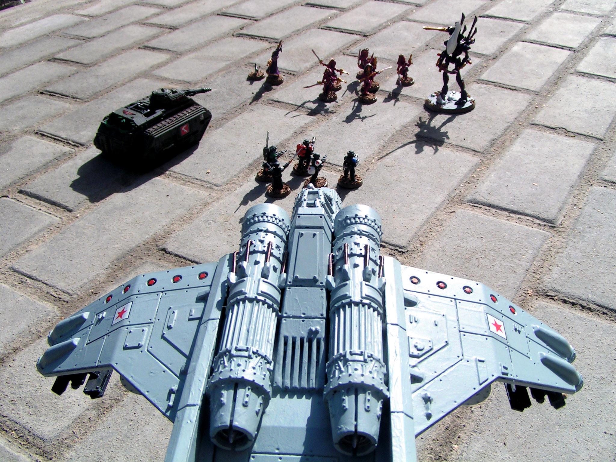 Astra Militarum, Eldar Abuse, Imperial Guard, Valkyrie