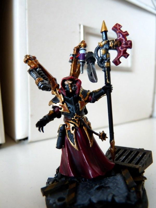 Conversion, Dark Mechanicum, Purple, Staff