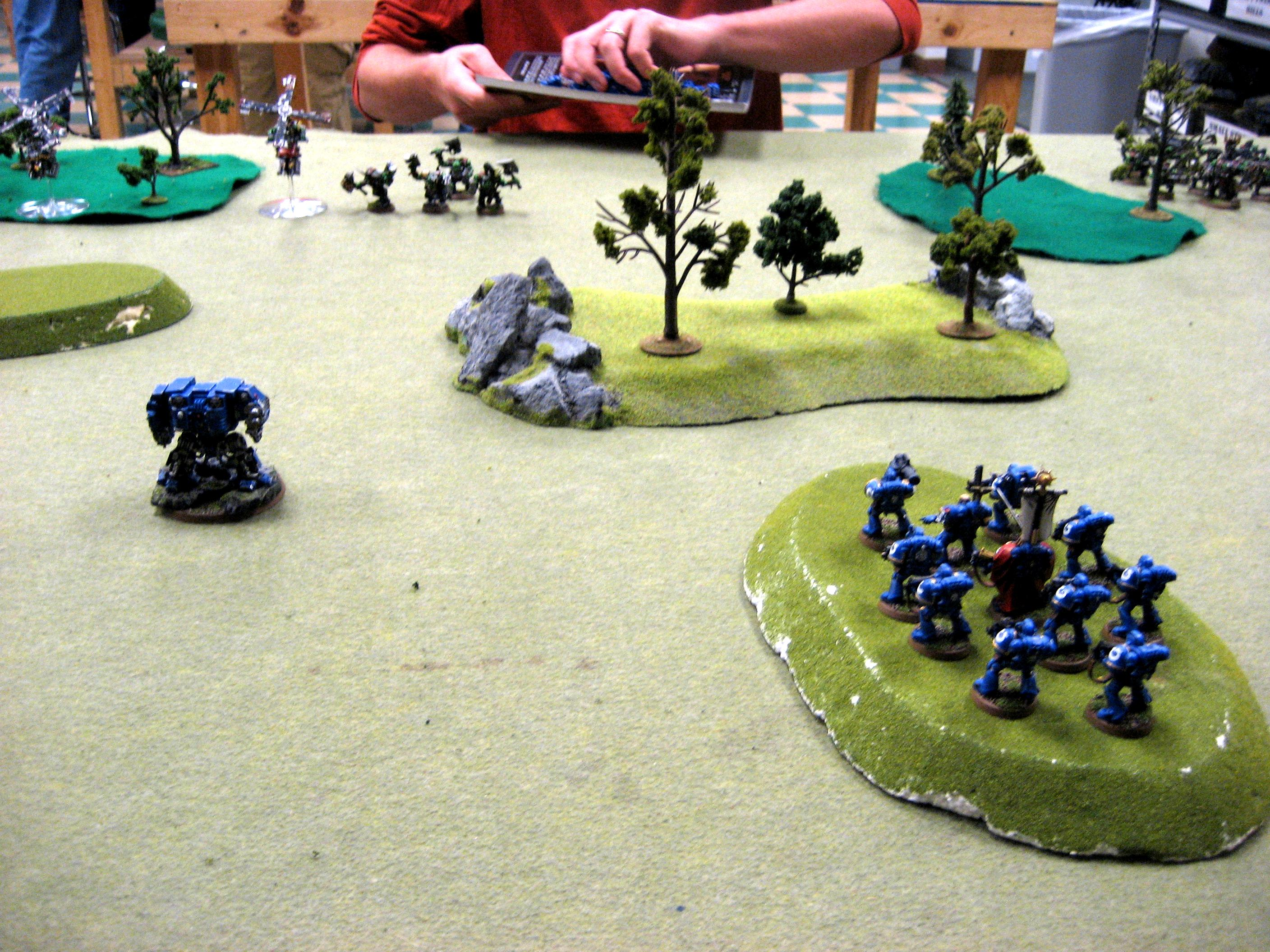 Assault On Black Reach, Battle Report, Orks, Space Marines, Ultramarines