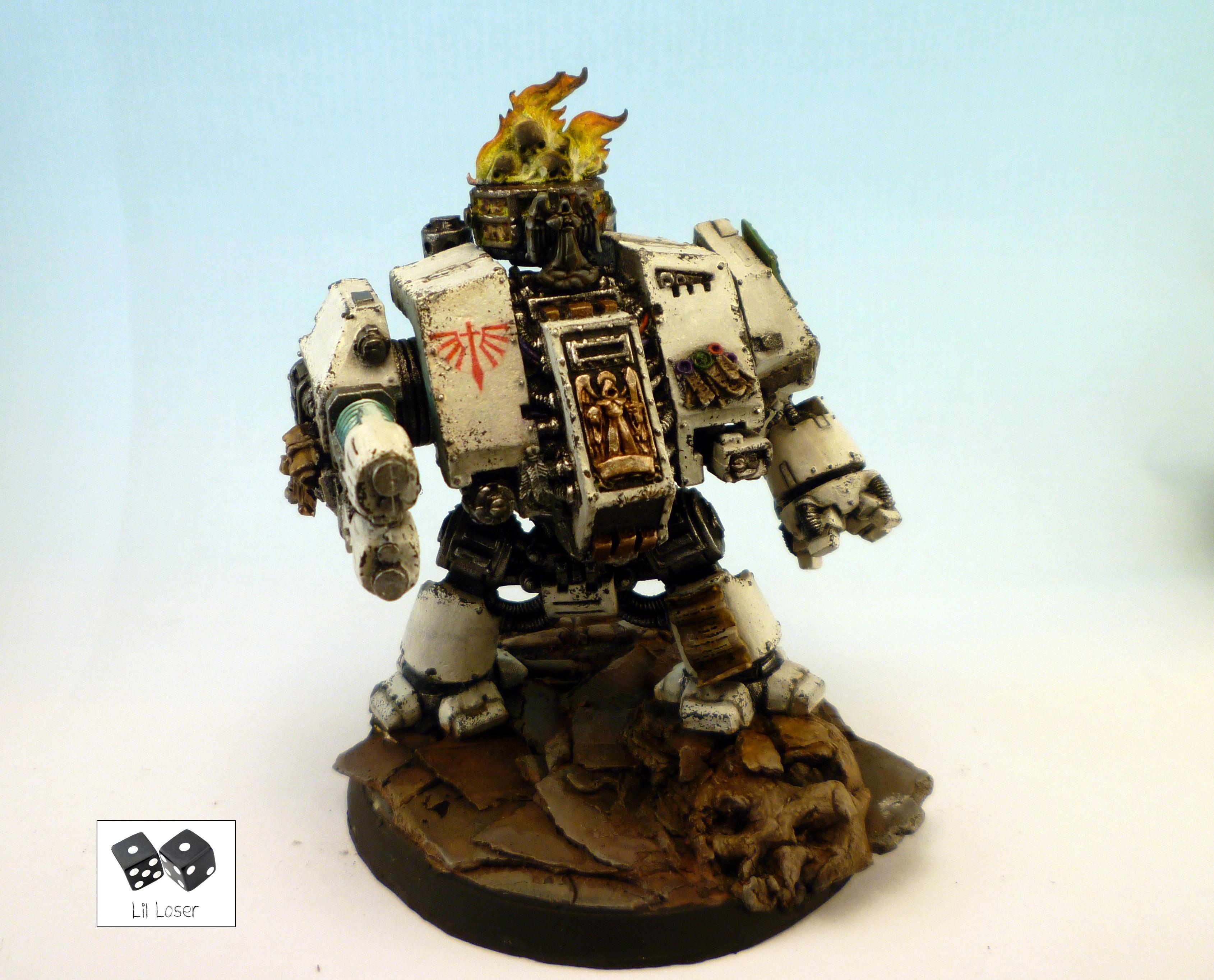Conversion, Dark Angels, Deathwing, Terminator Armor, Warhammer 40,000