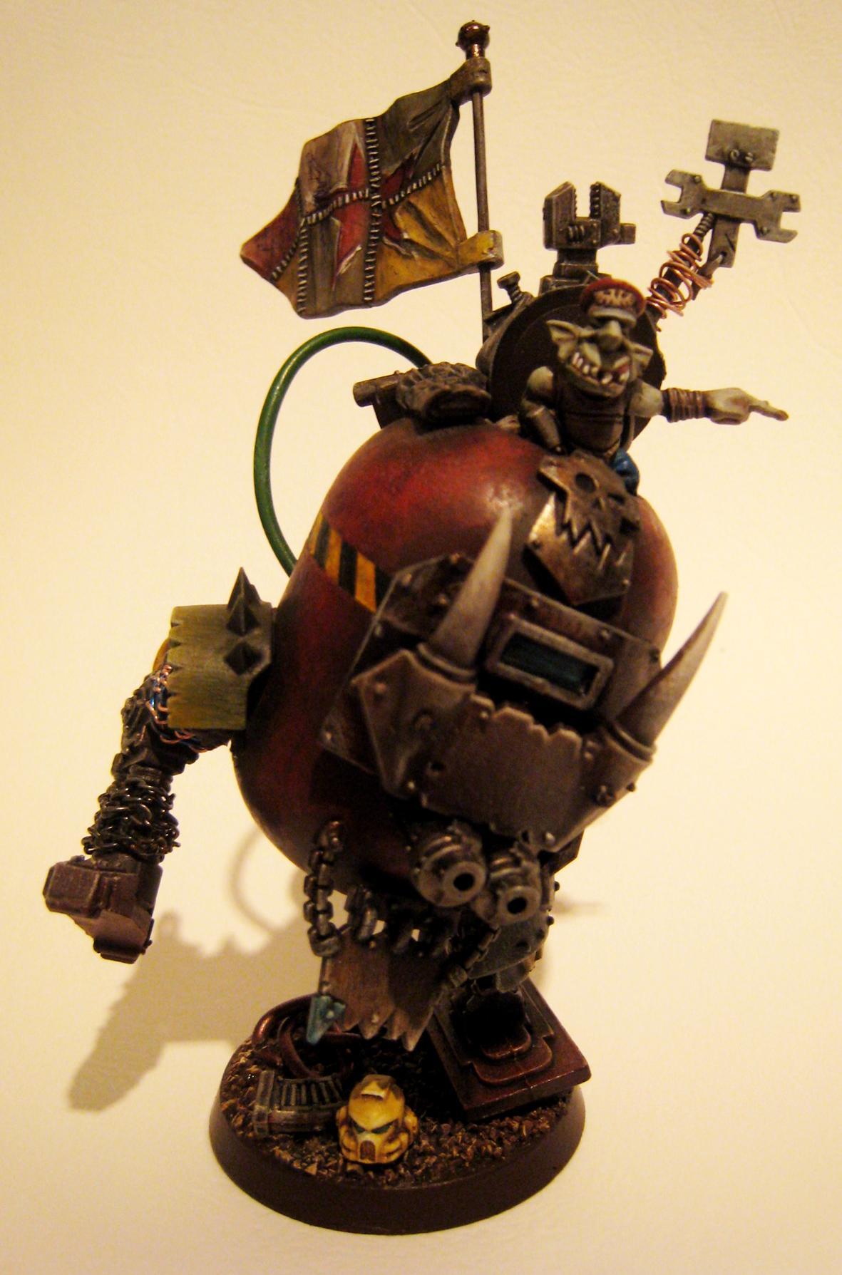 Big Mek, Grots, Killa Kan, Mega Armor, Rebel