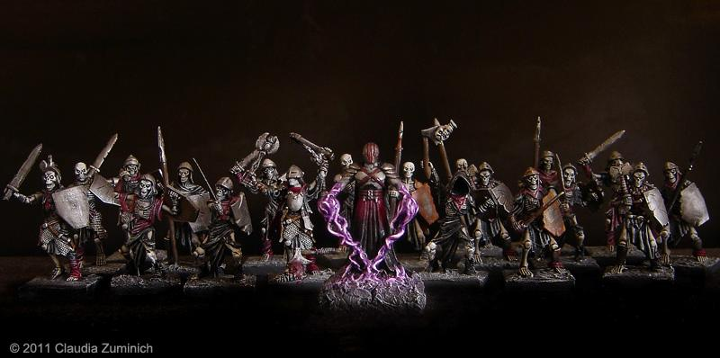 Faceless, Mantic, Mhorgoth, Undeads