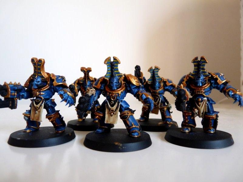 Chaos Space Marines, Terminator Armor, Thousand Sons