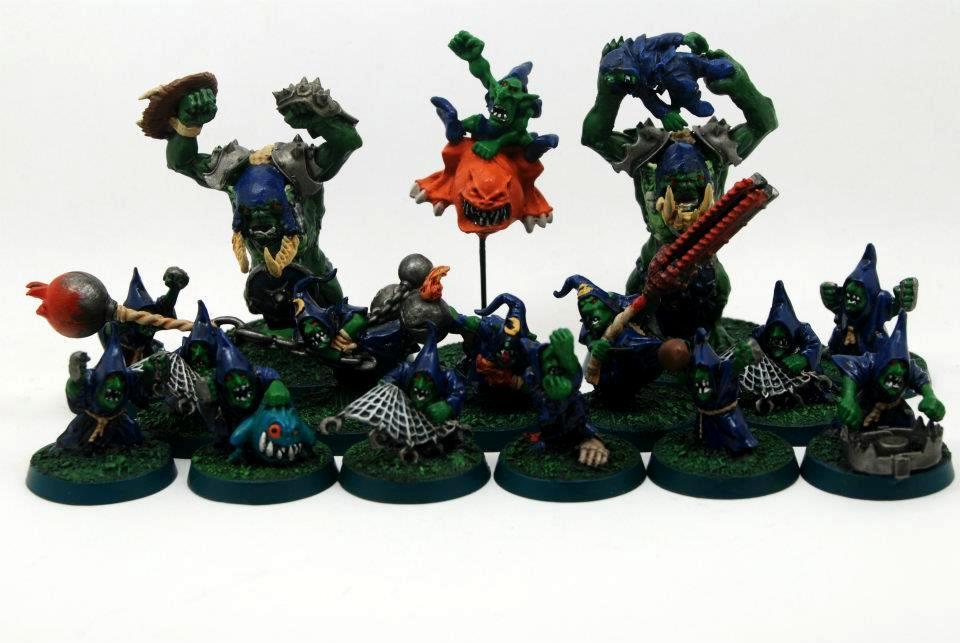 Blood Bowl, Goblins, Team