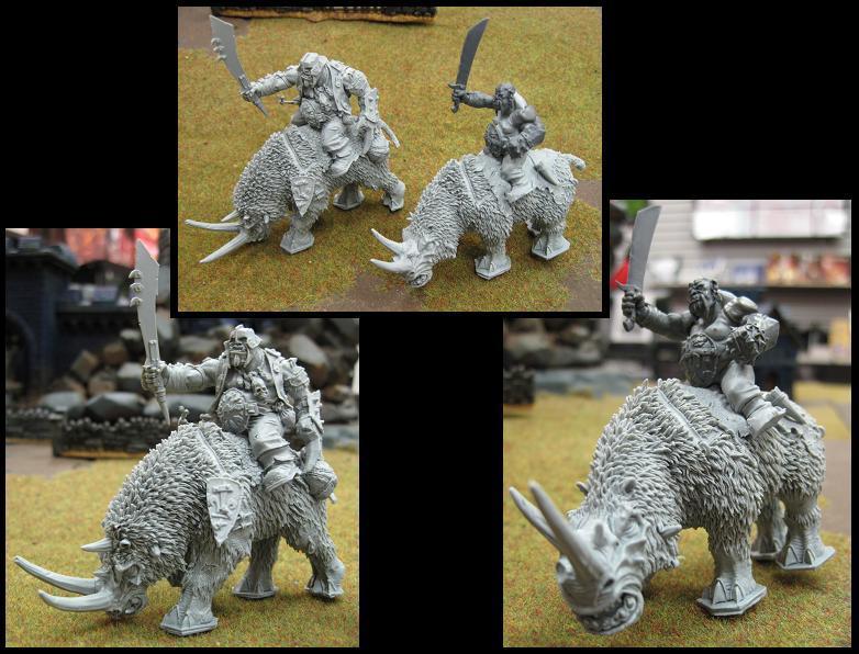 Bulls, Crusher, Forge World, Ogre Kingdoms, Ogres, Rhinox