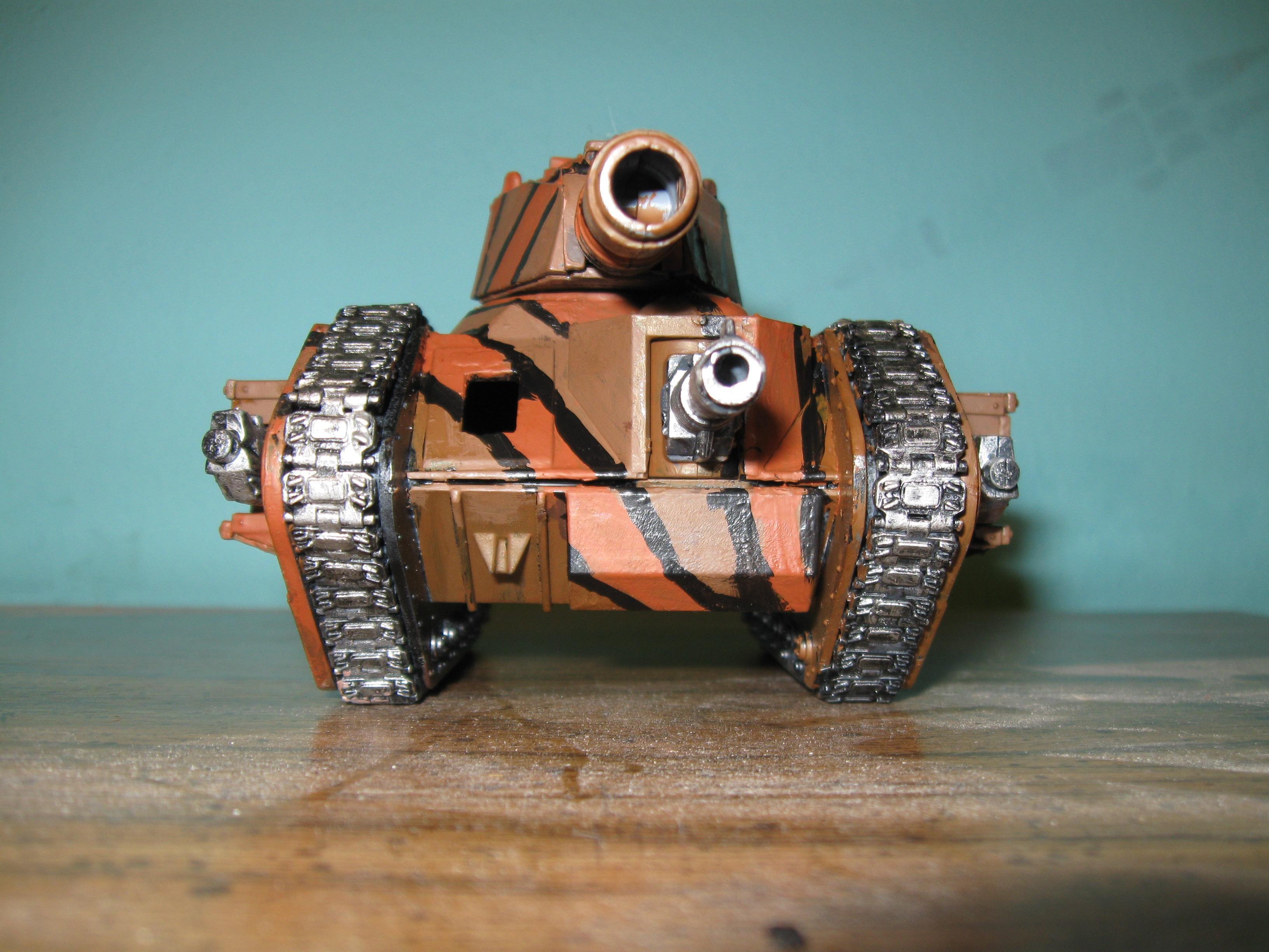Brown, Camouflage, Custom Army, Desert, Imperial Guard, Leman Russ, Tank