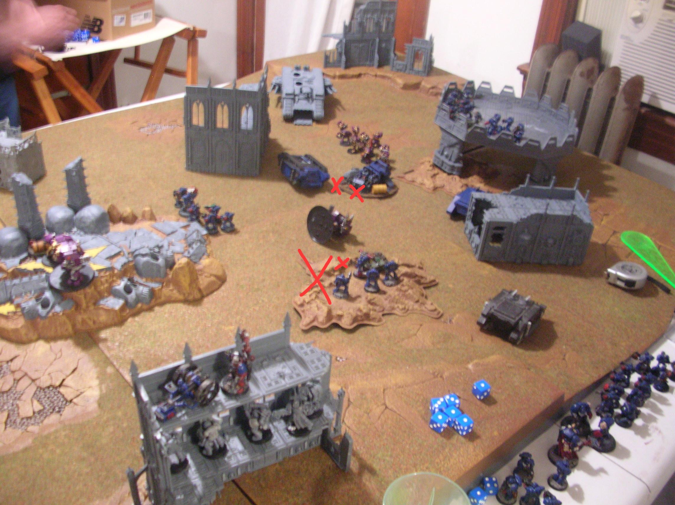 Battle Report, Crimson, Crimson Fists, Fists, Space Marines, Tyranids