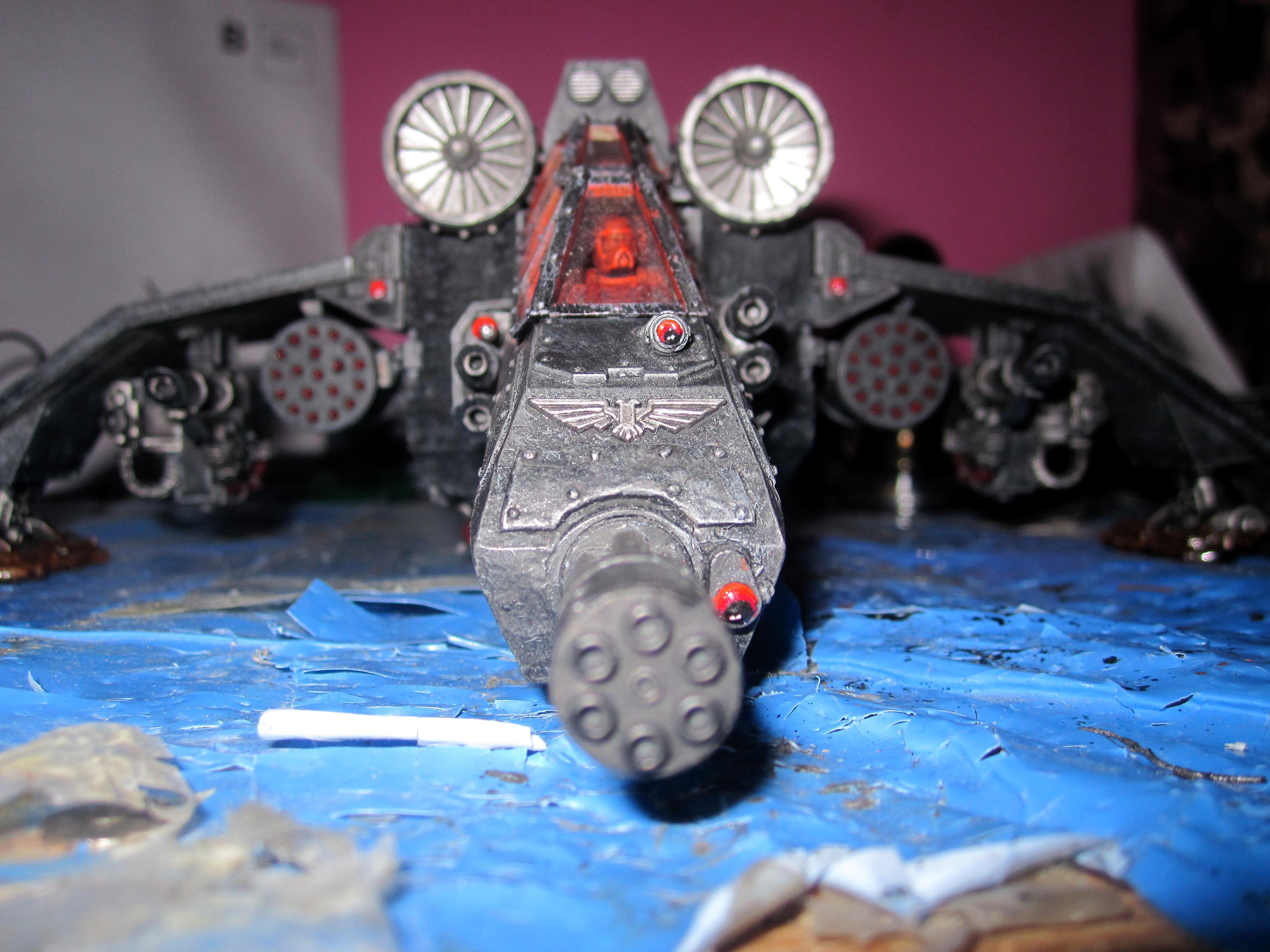 Imperial Guard, Object Source Lighting, Punisher Cannon, Valkyrie, Vendetta