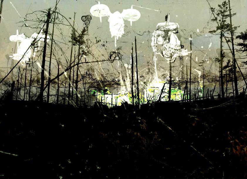 Artwork, Blight Drones, Nurgle