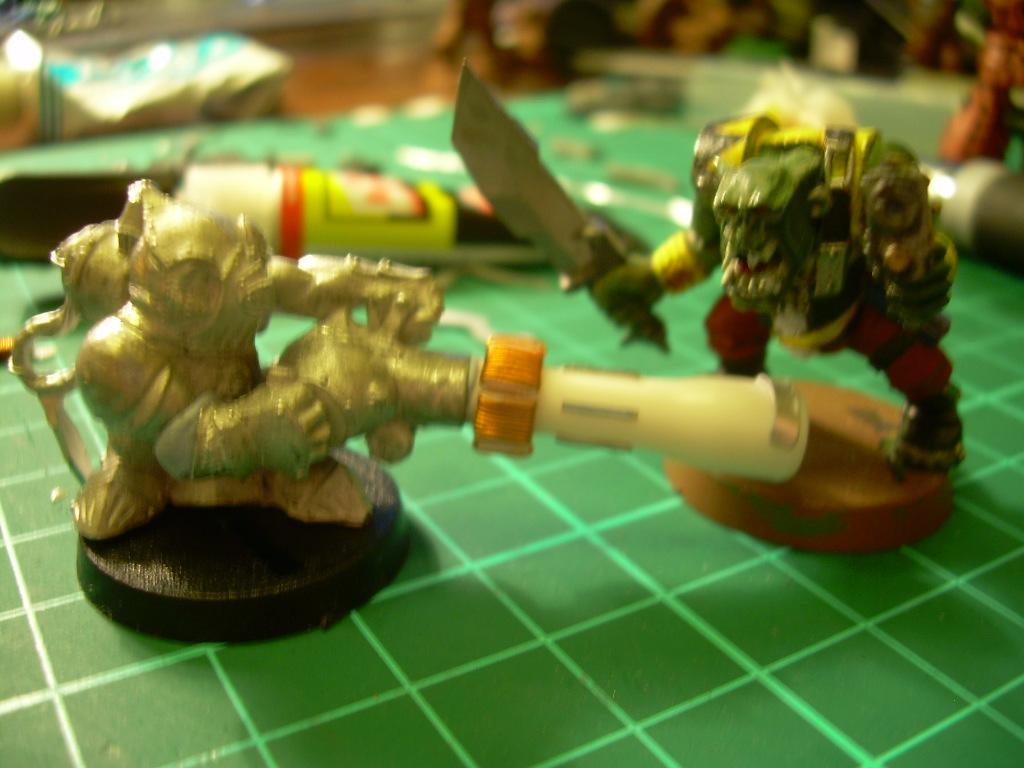 Conversion, Grots, Warhammer 40,000, Zapgun Grot