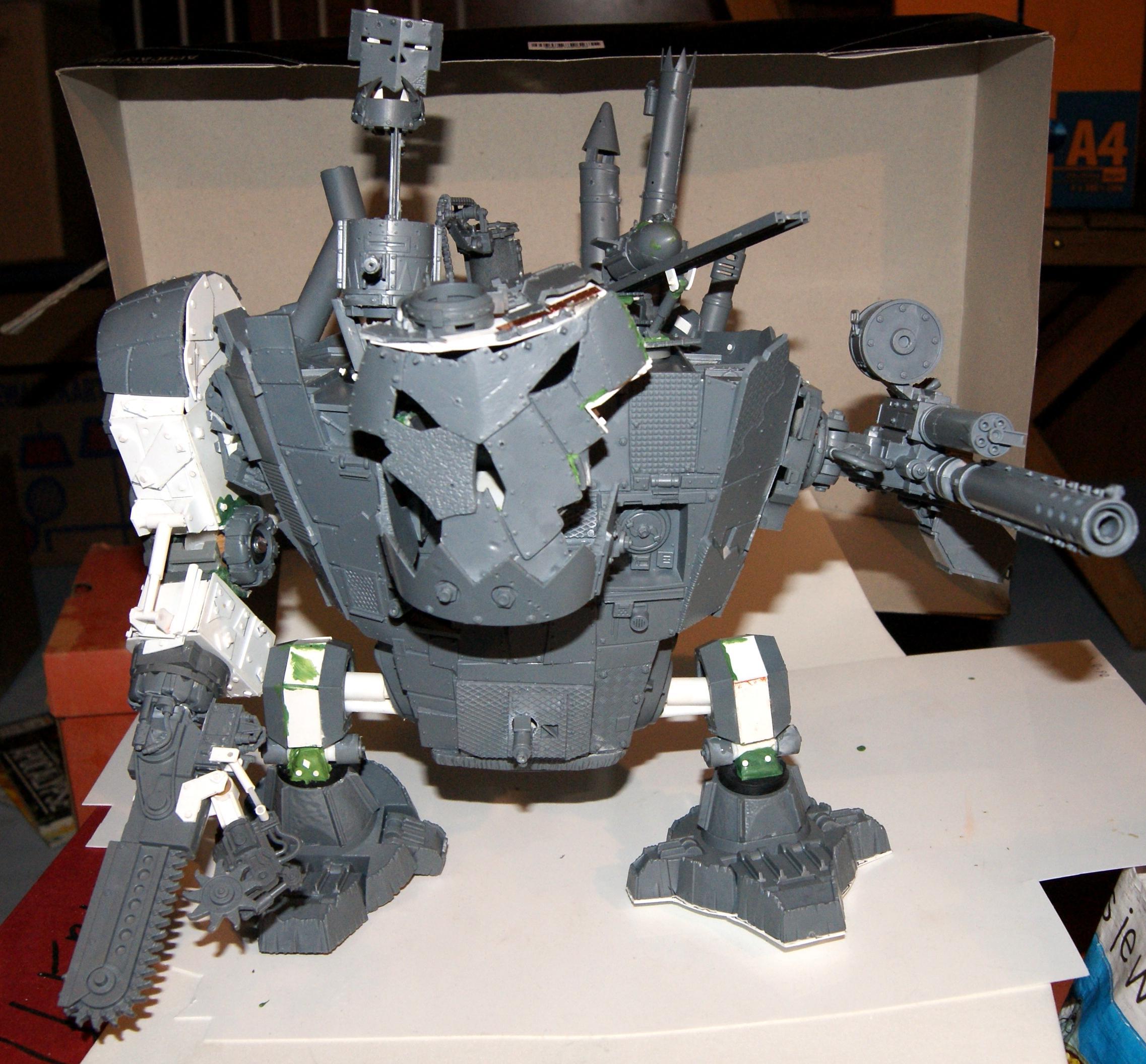 Conversion, Grot Rebellion, Grot Rebels, Grots, Stompa, Warhammer 40,000, Work In Progress