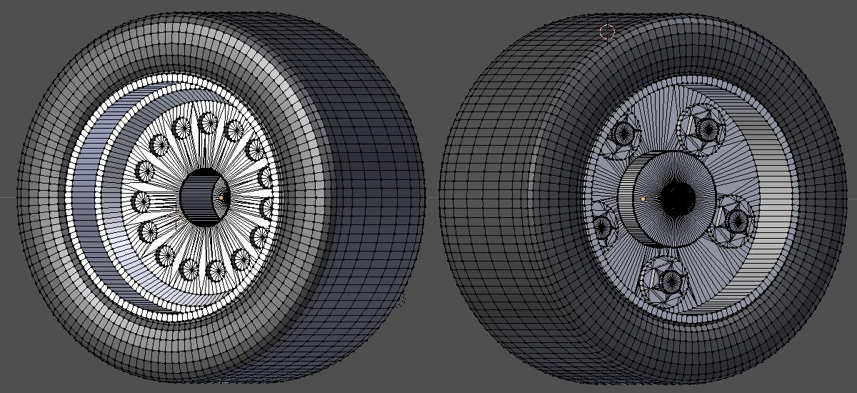 3d Modelling, Wheel