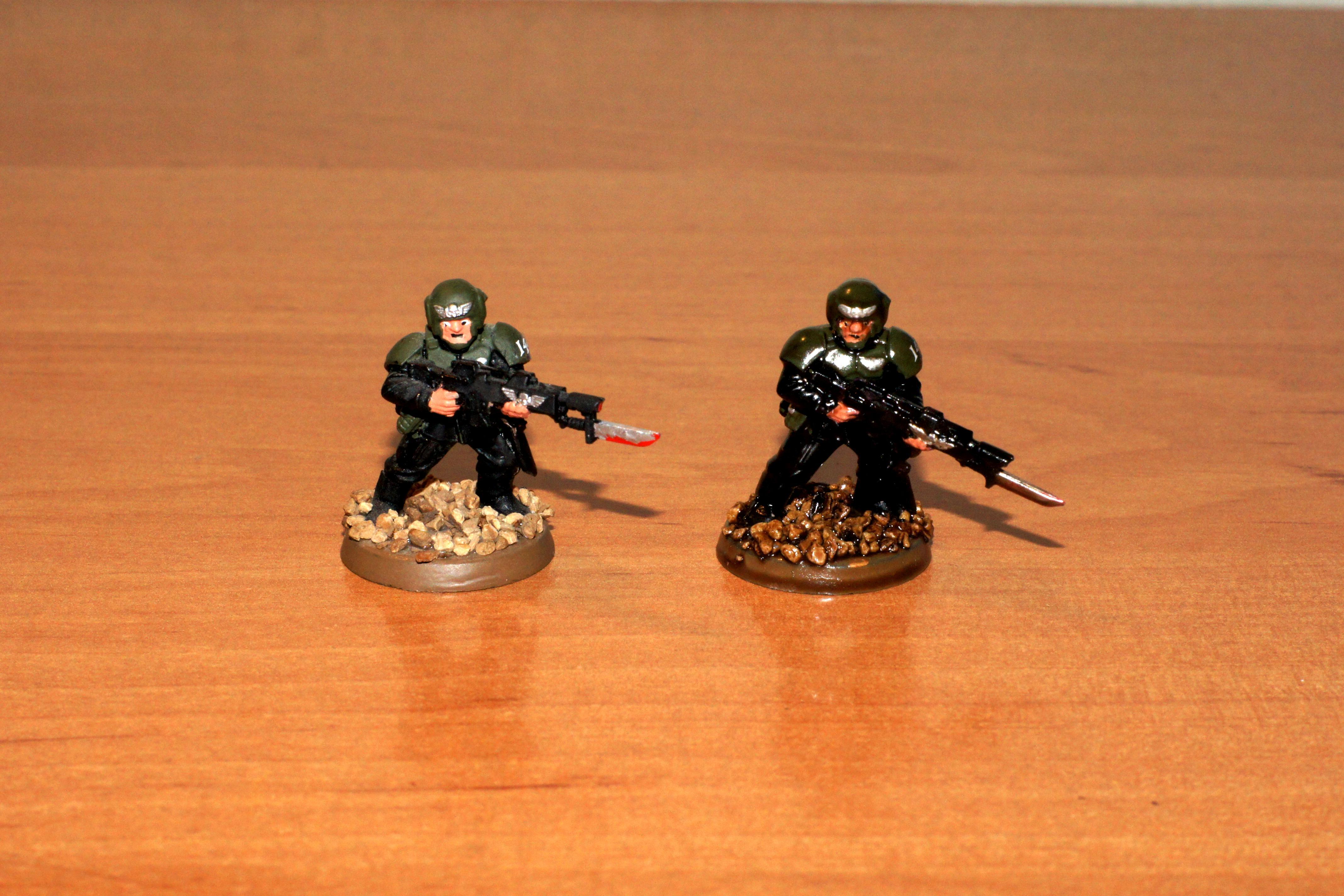 Astra Militarum, Guardsmen, Imperial Guard, Quickshade