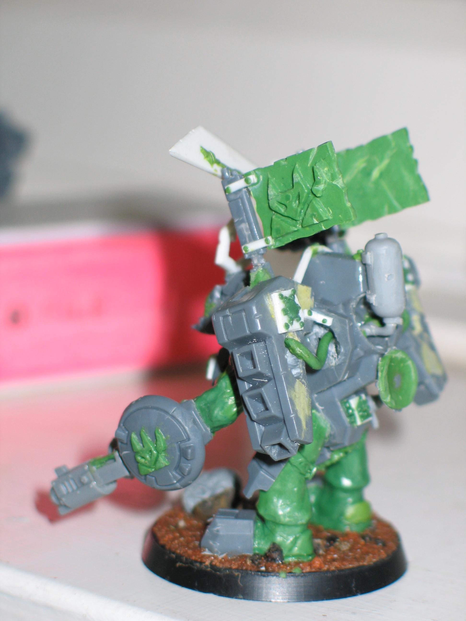 Conversion, Decepticon, Orks, Scratch Build, Transformer, Unpainted, Warboss, Work In Progress