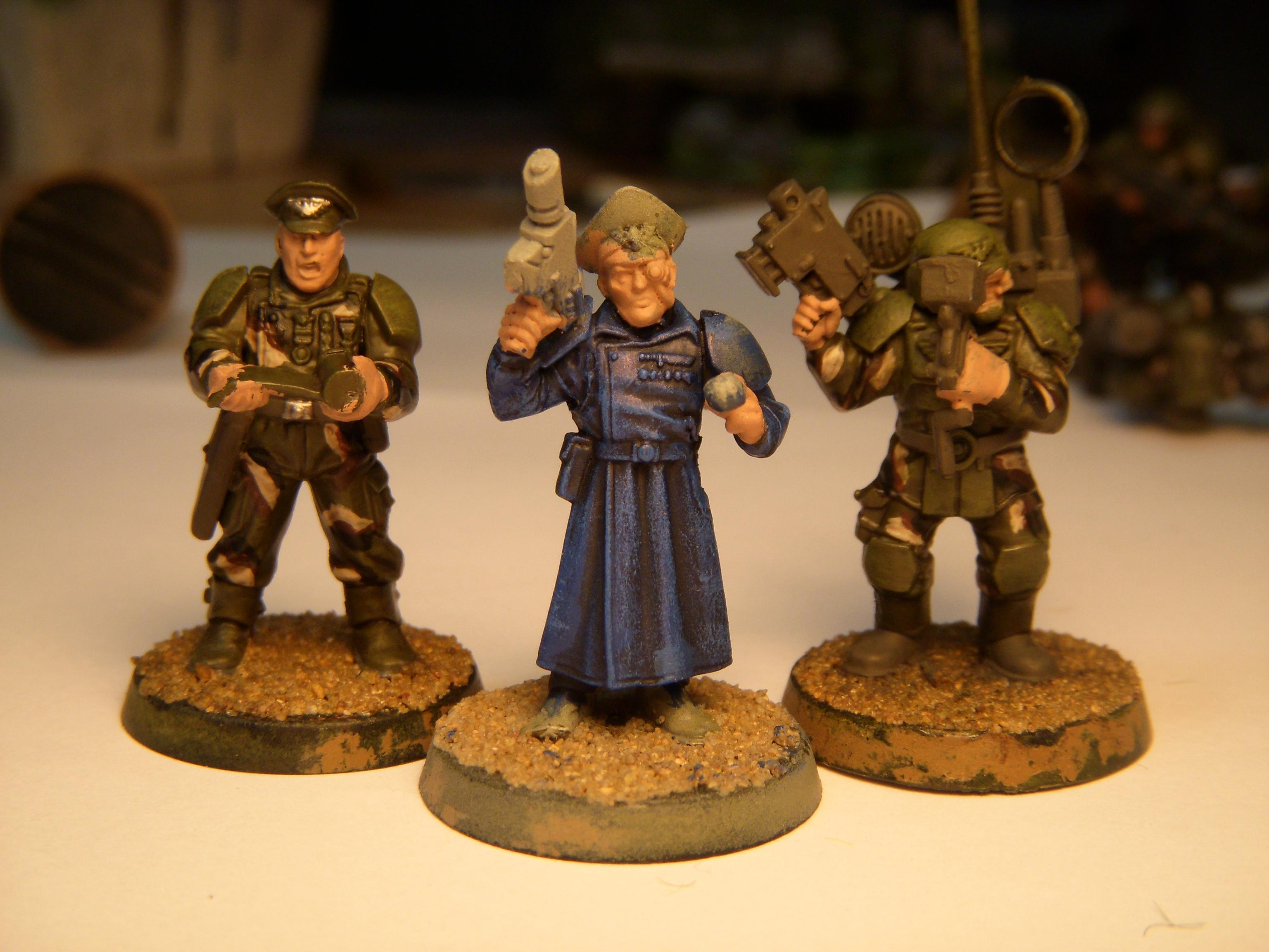 Advisors, Cadians, Guard, Imperial Guard, Imperial Guard Cadian, Master Of Ordnance, Master Of The Fleet
