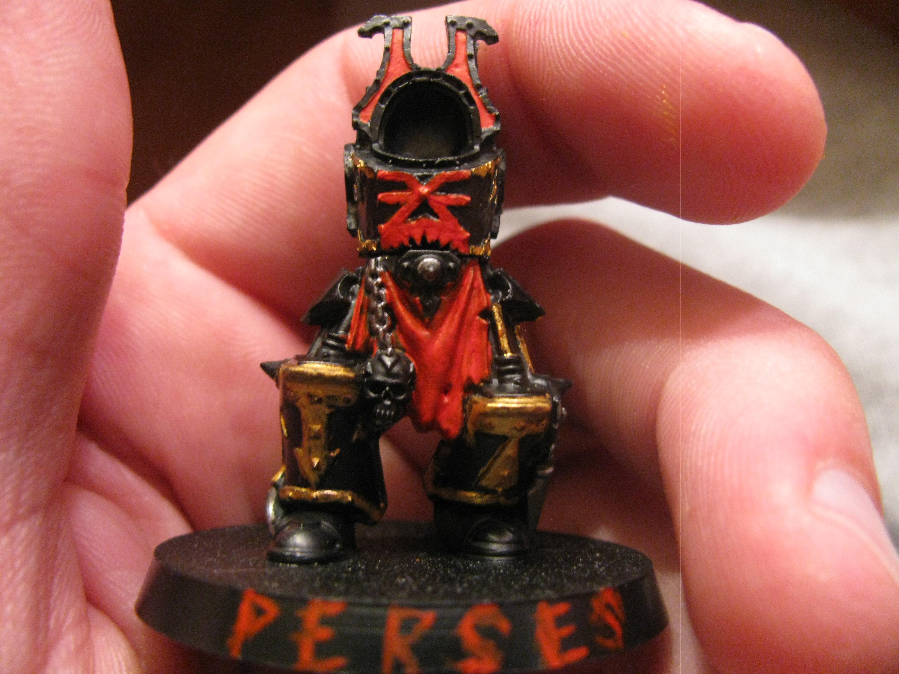 Perses, Havoc champion, he gets the reaper autocannon